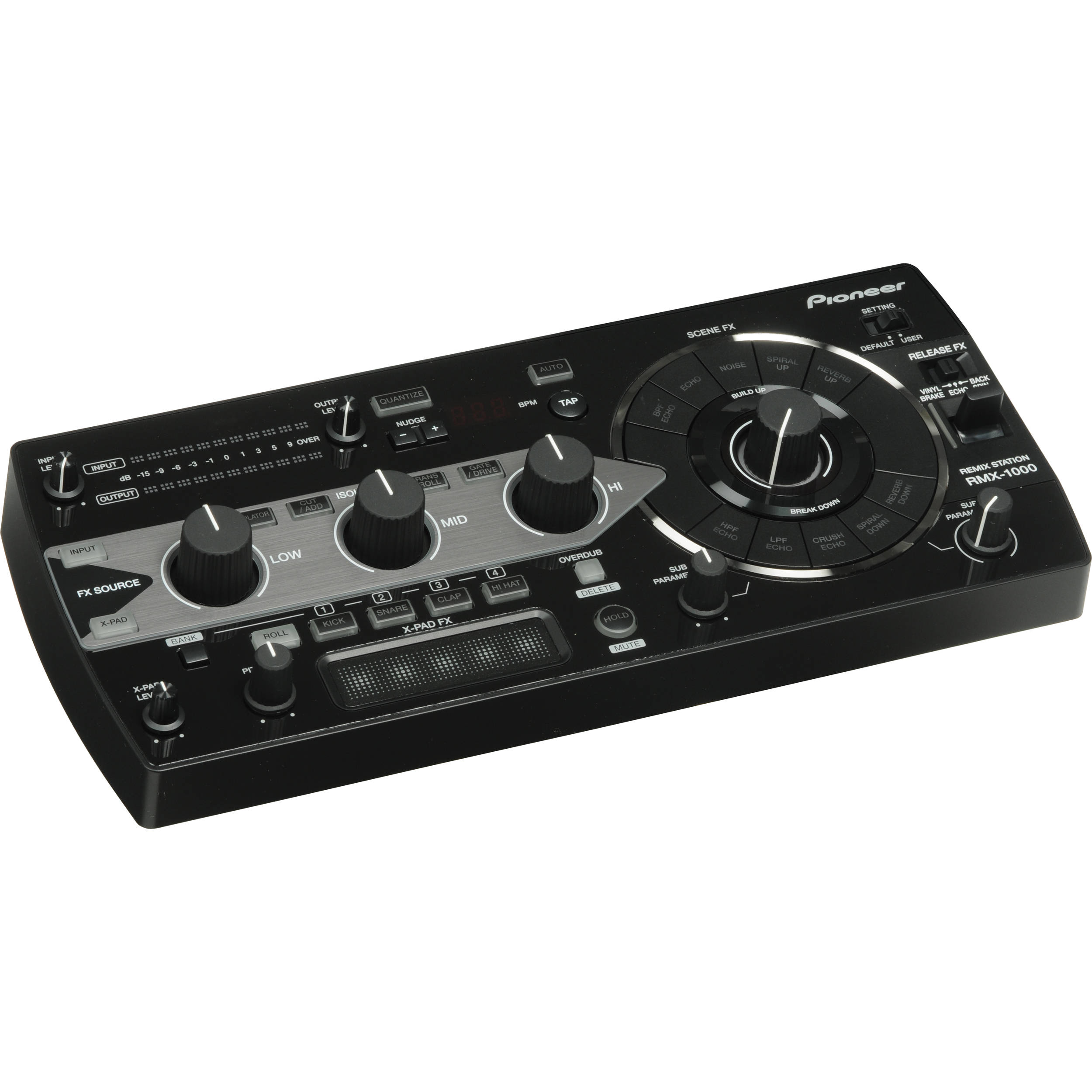 Pioneer RMX-1000 DJ Controller Drivers for Windows 7