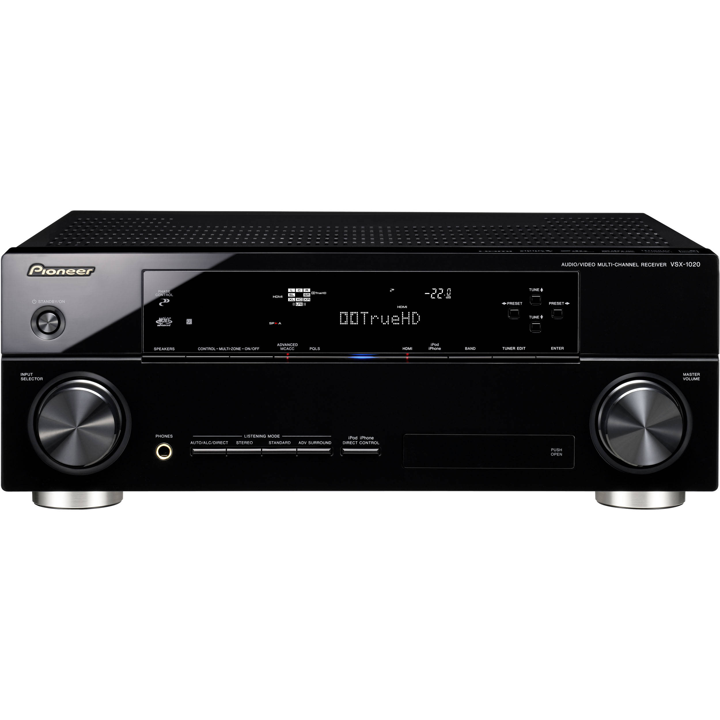 Pioneer VSX-1020-K 7.1-Channel 3D Ready A/V Receiver VSX-1020-K