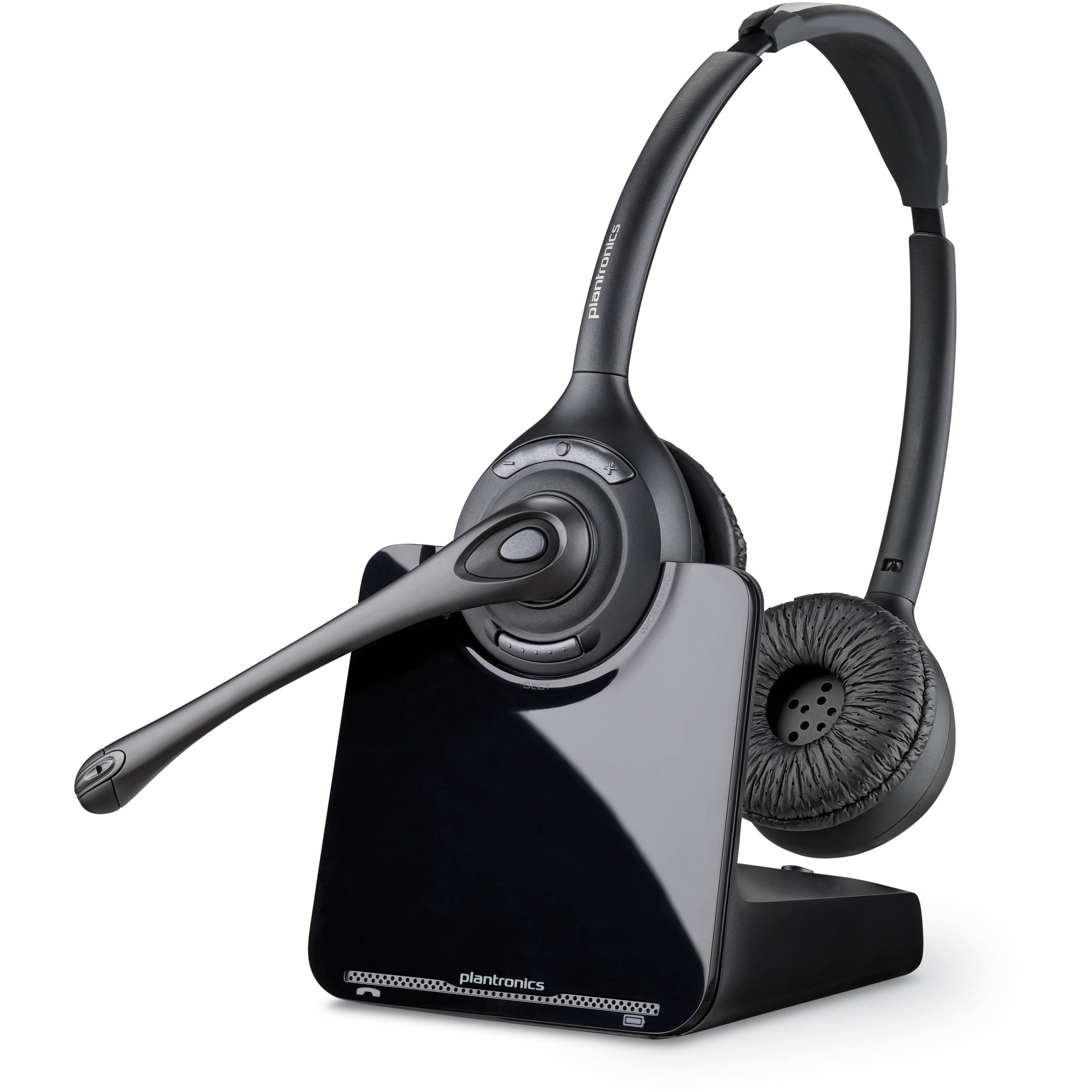 Plantronics Cs520 Wireless Headset System 84692 01 B Amp H Photo