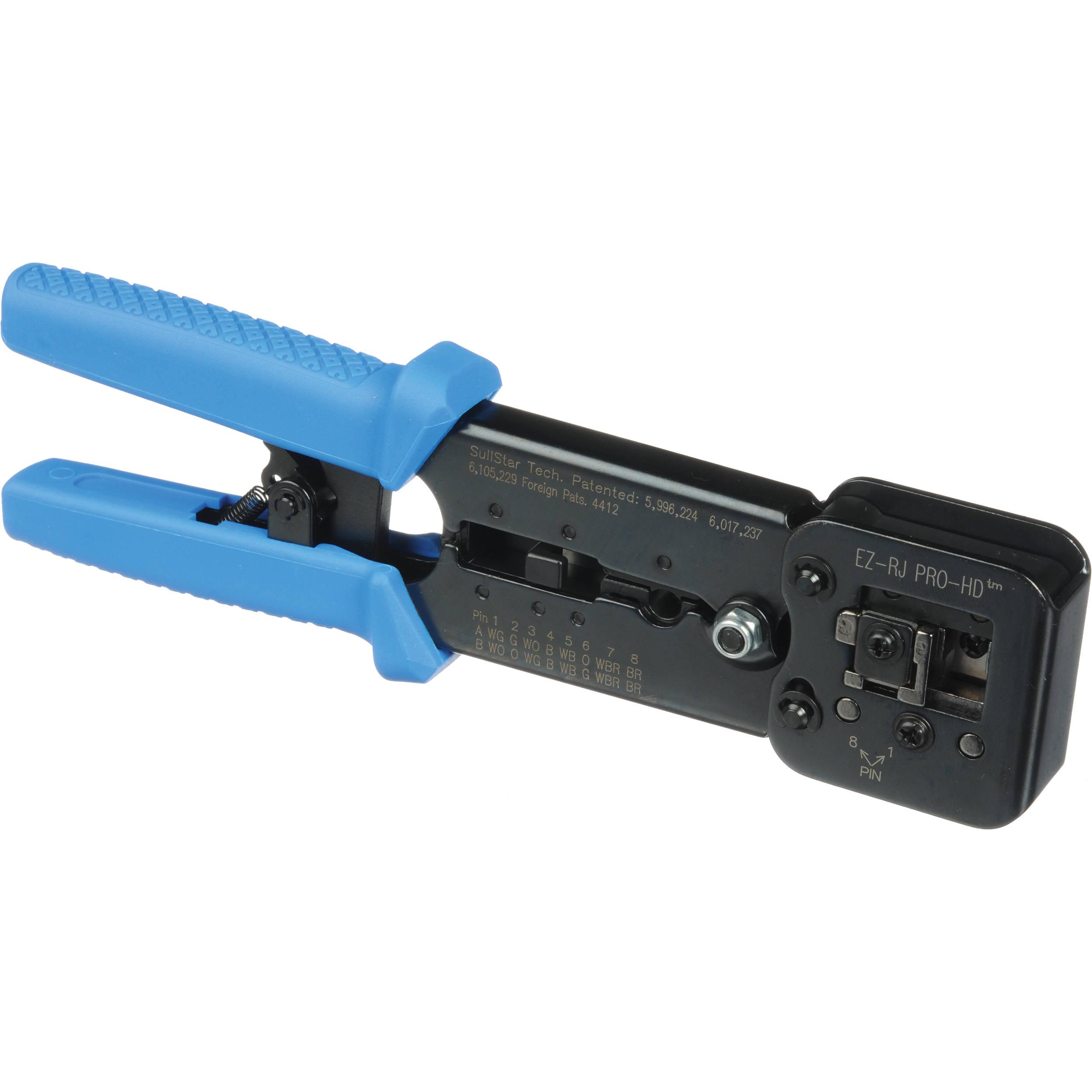 Platinum Tools 100054C EZ-RJPRO HD Crimp Tool 100054C B&H ... Hd Tools