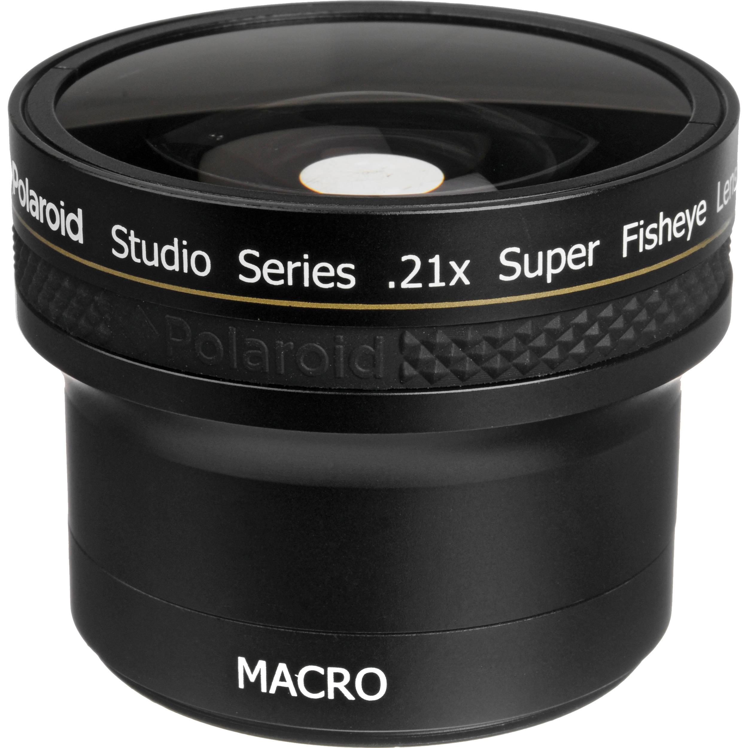 7b978fcbd928 Polaroid Studio Series 52/58mm 0.21x HD Super Fisheye PL2158F