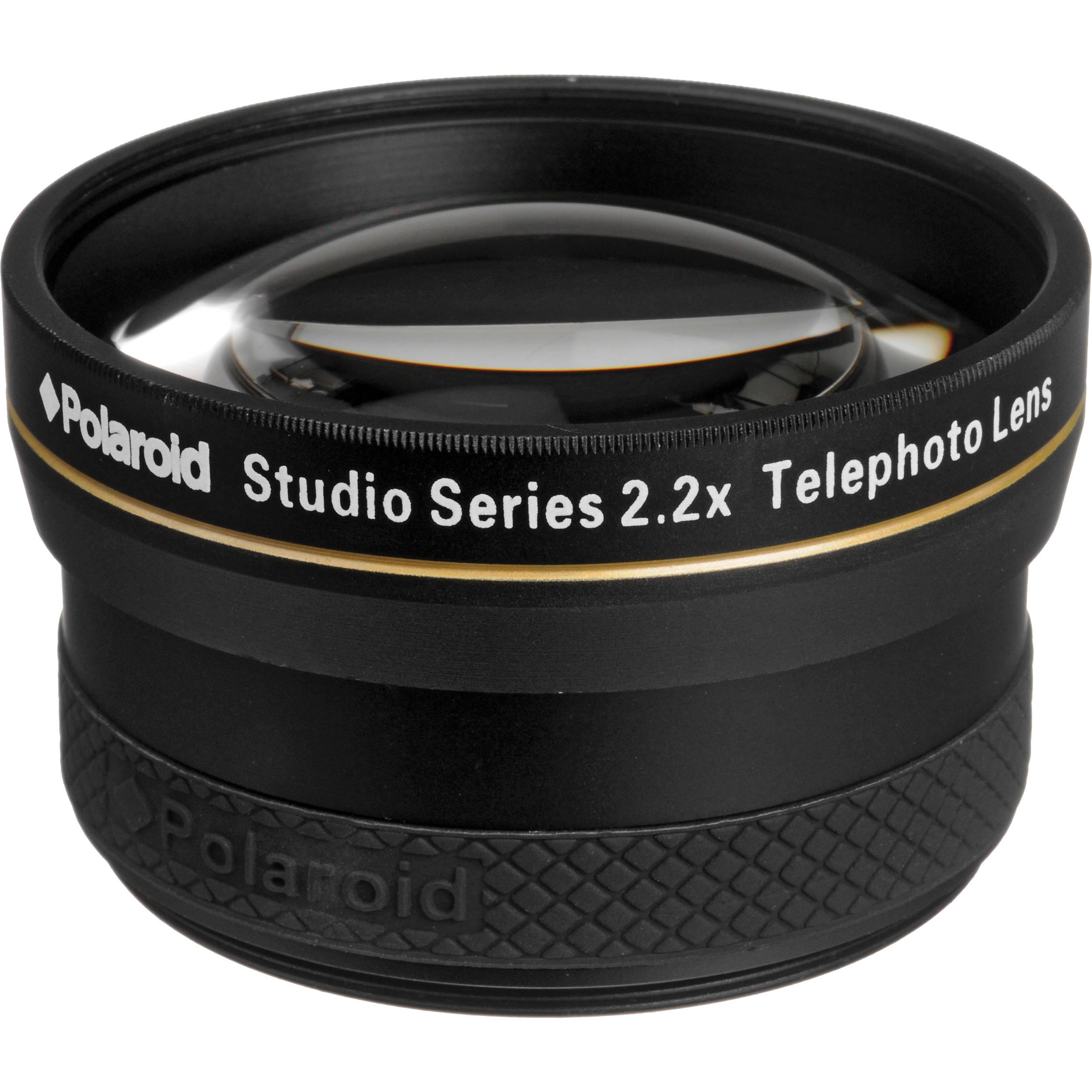 Polaroid Studio Series 58mm 22x Hd Telephoto Lens Pl2258t Bh