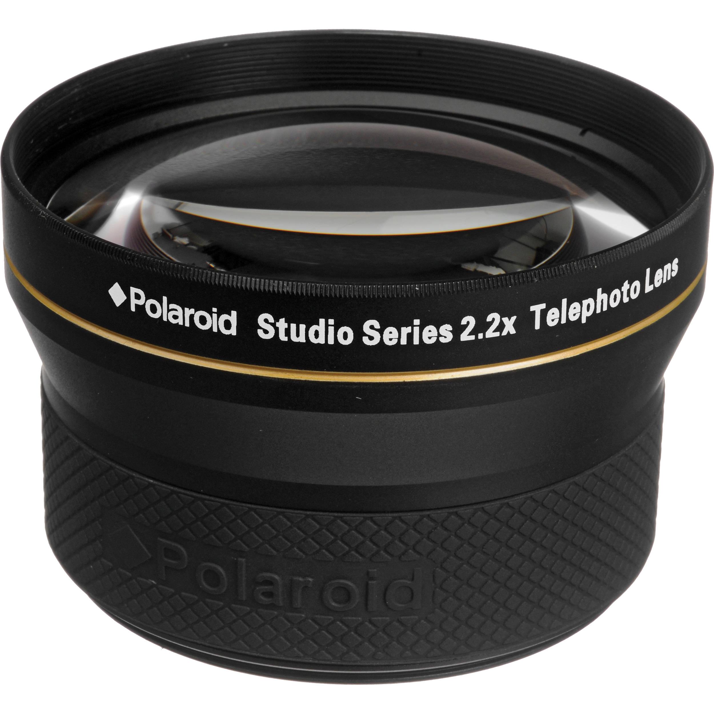 0b031bd596f2 Polaroid Studio Series 72mm 2.2x HD Telephoto Lens PL2272T B&H