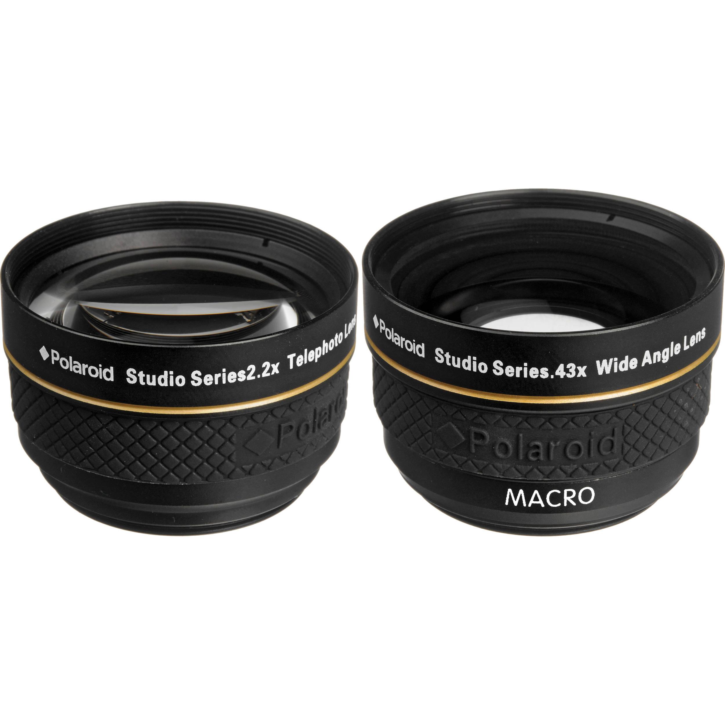 Polaroid Studio Series 37mm 22x Telephoto 043x Plkit37wt