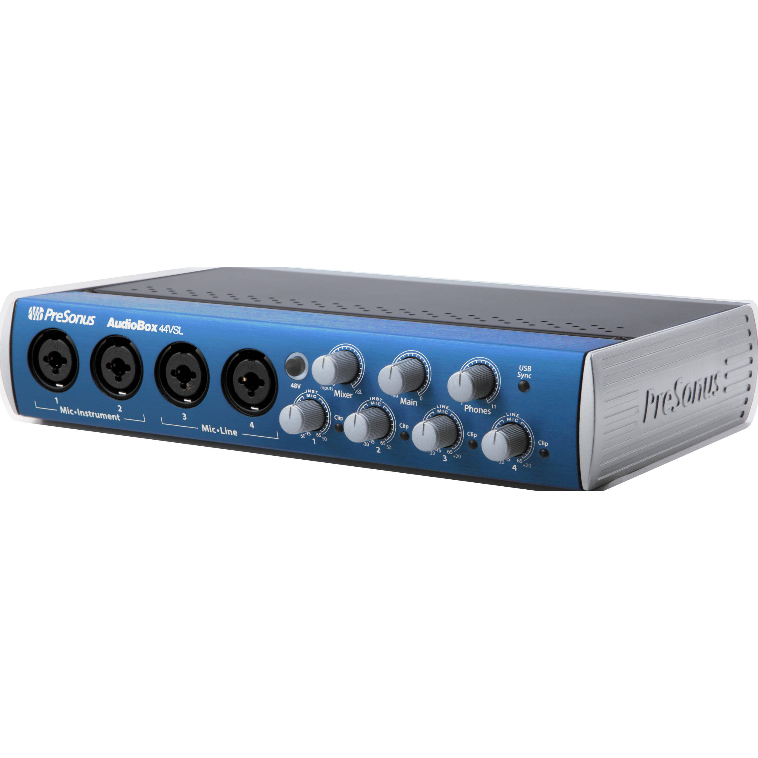 presonus audiobox 44vsl usb 2 0 recording system audiobox 44. Black Bedroom Furniture Sets. Home Design Ideas