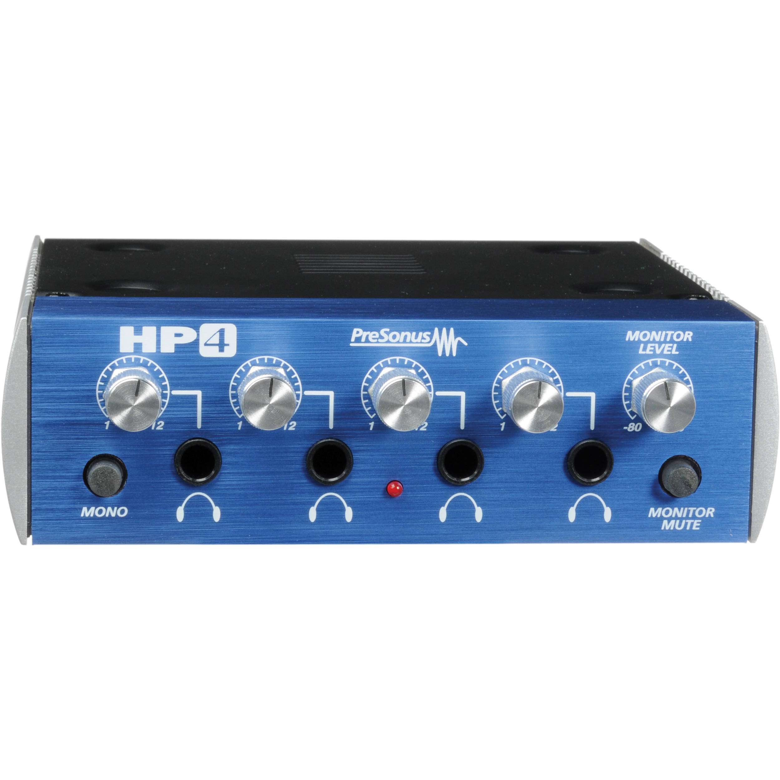 presonus hp4 4 channel headphone distribution amplifier hp4. Black Bedroom Furniture Sets. Home Design Ideas
