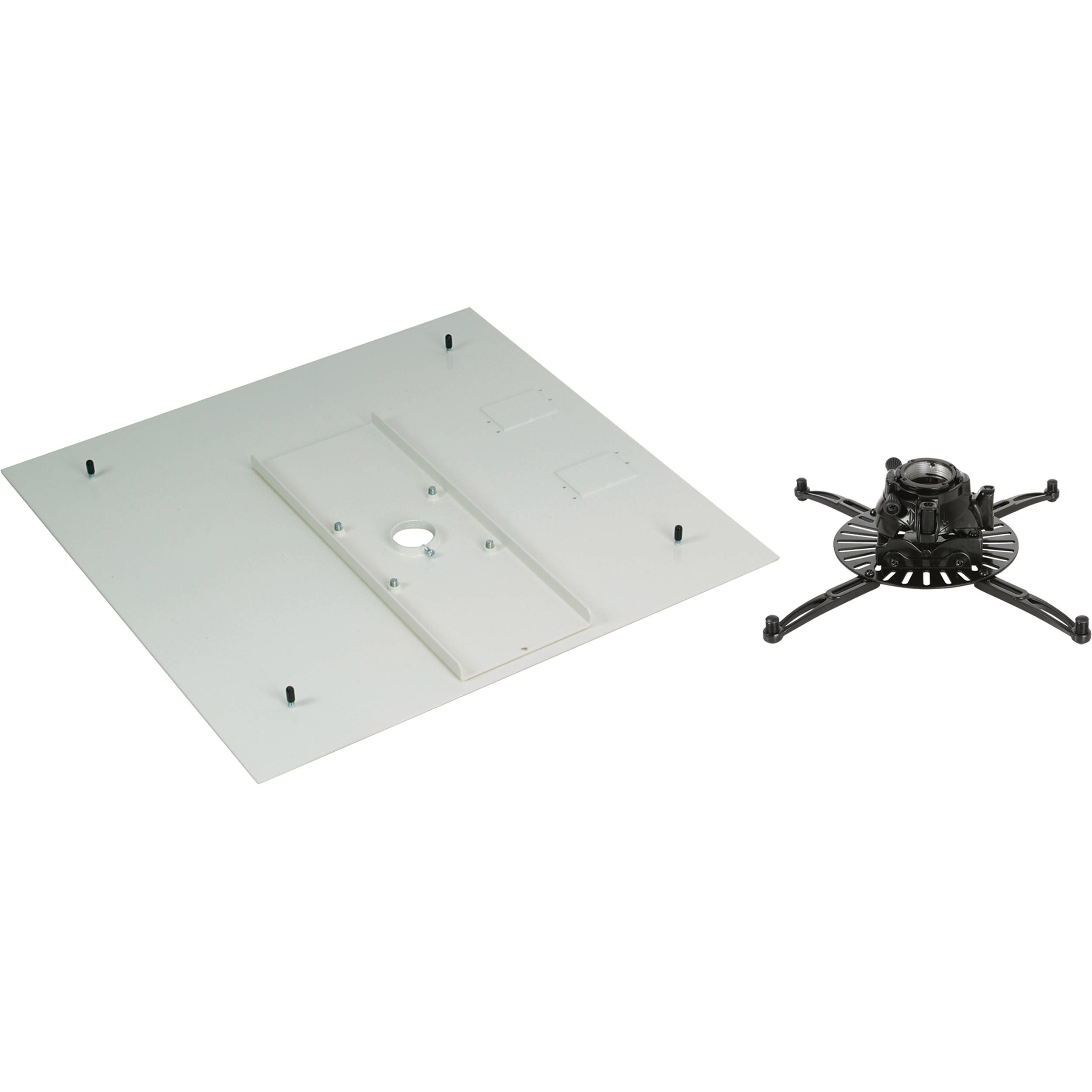 Premier Mounts Ftp Projector Mount With Pp Fcma Full Tile False Ceiling Adapter