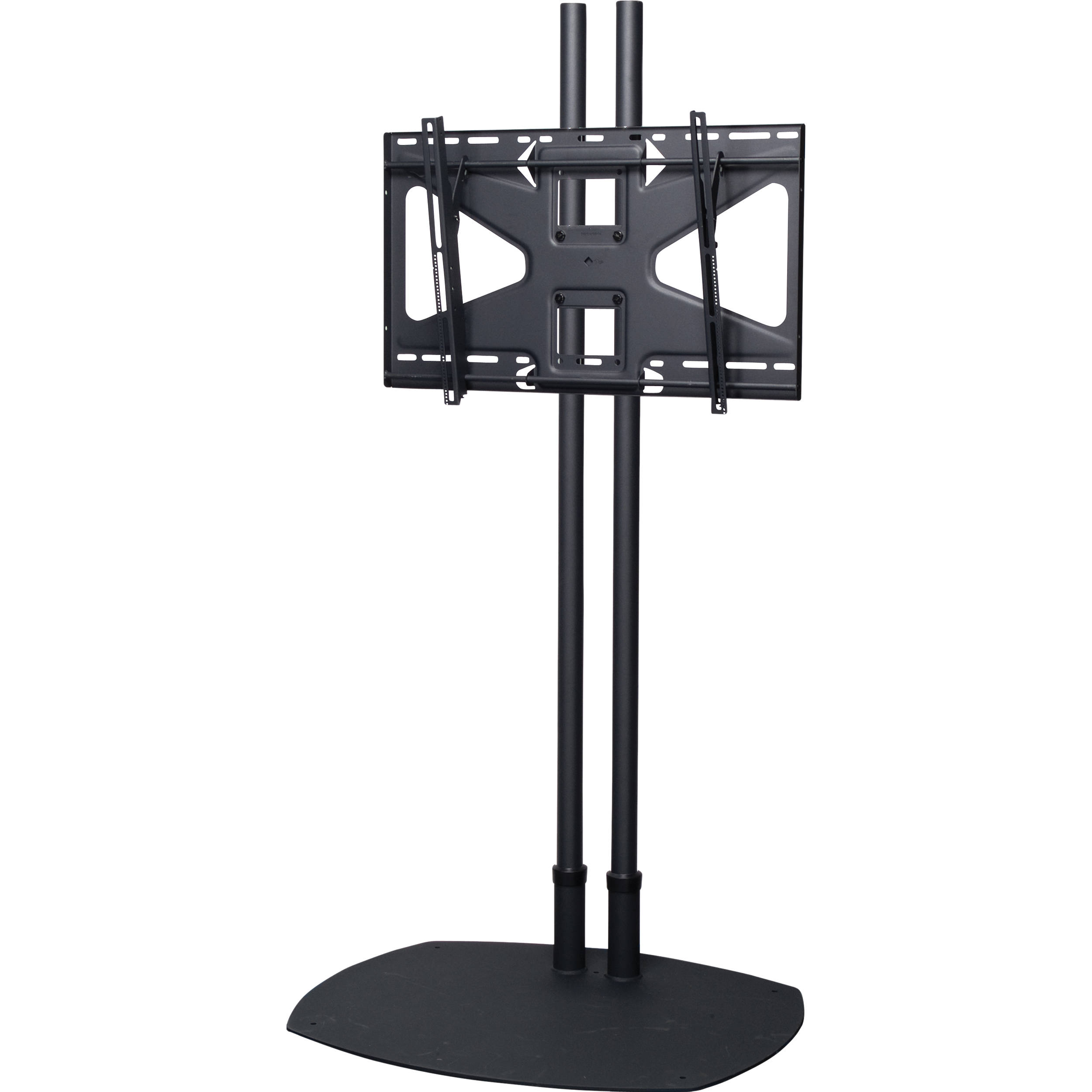 Premier mounts ts72b ms2 floor stand combination ts72b ms2 b h for Stand 2 b