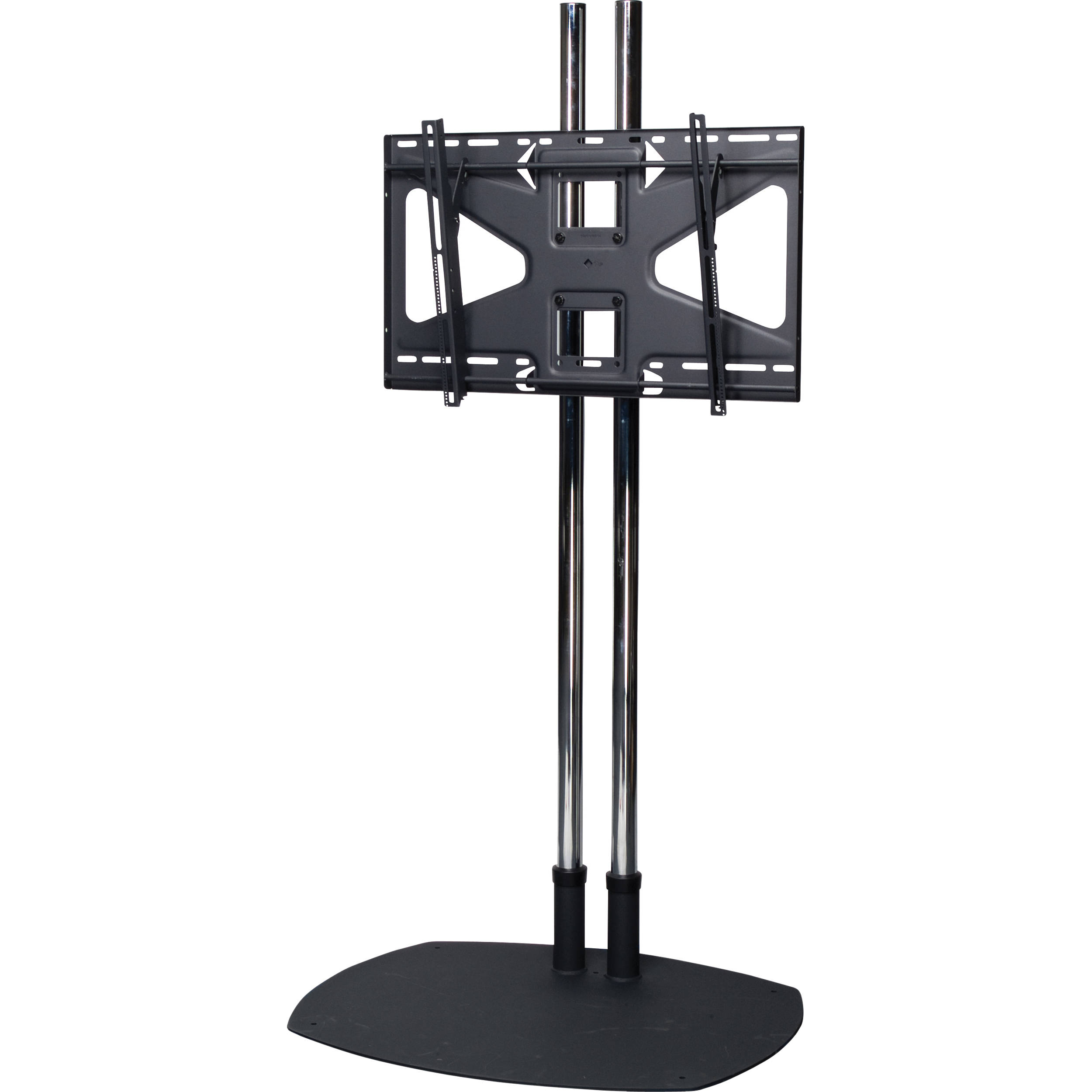 Premier mounts ts84 ms2 floor stand combination ts84 ms2 b h for Stand 2 b