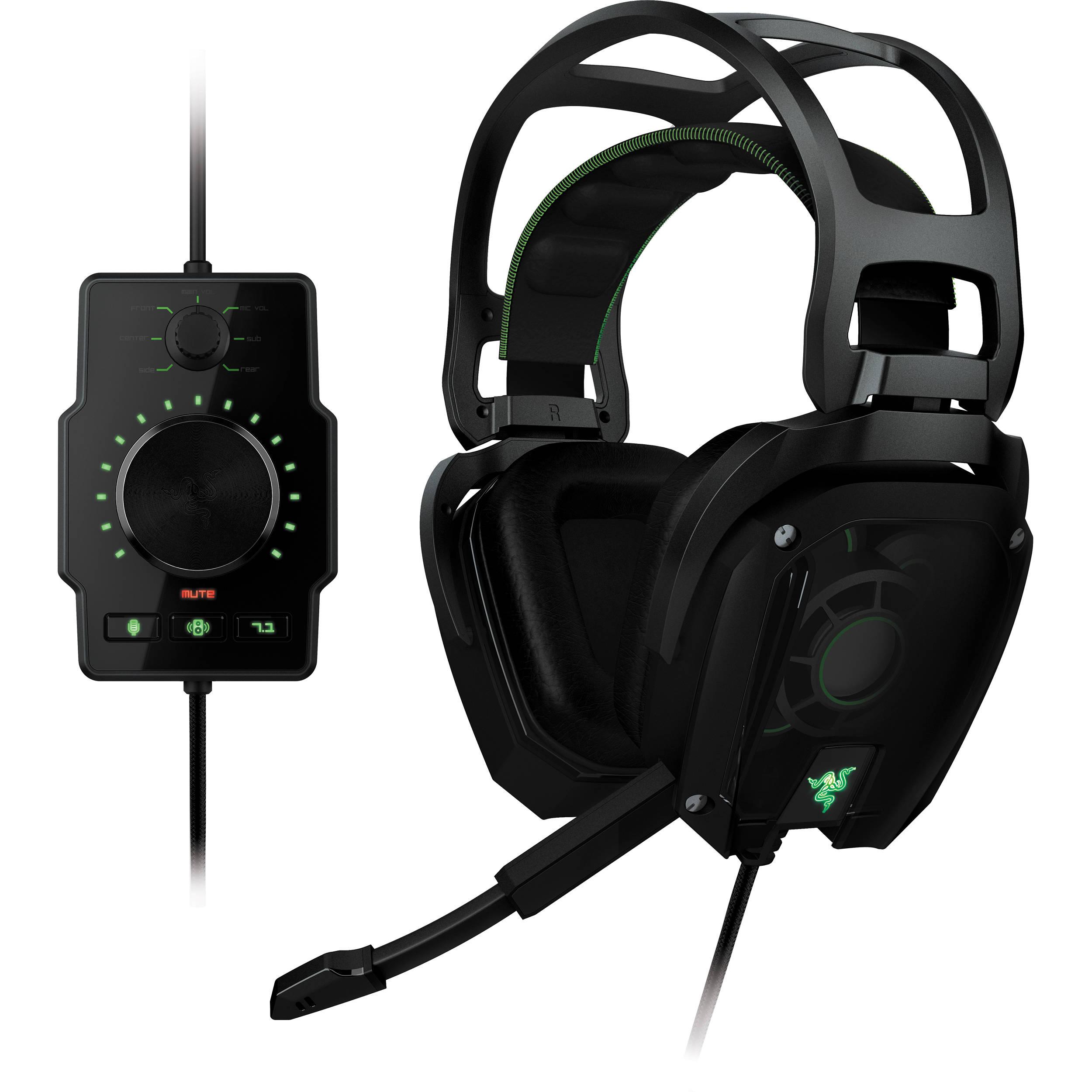 Razer Tiamat 7 1 Elite Surround Sound Analog Rz04 00600100 R3u1