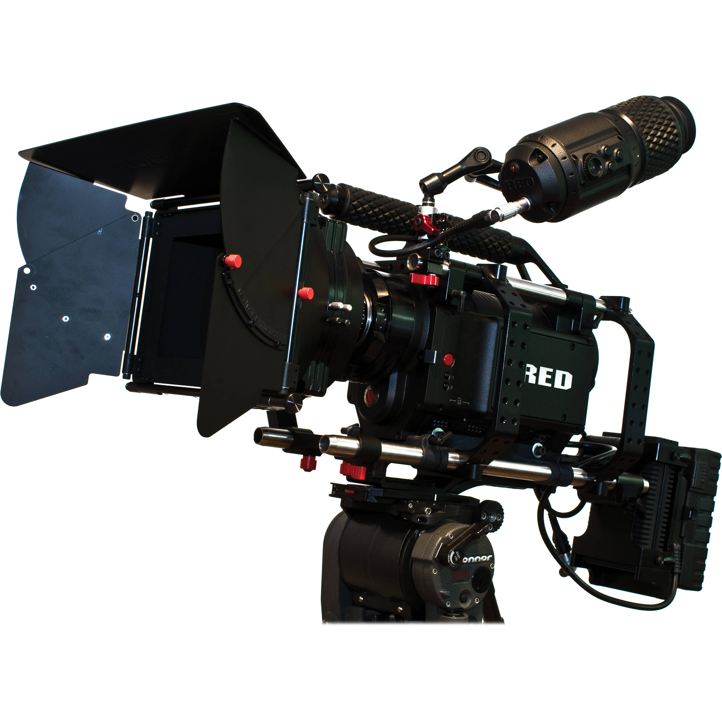 redrock micro micromattebox deluxe bundle for red one 8 003 0044 rh bhphotovideo com Red Camera Lens Red Digital Camera