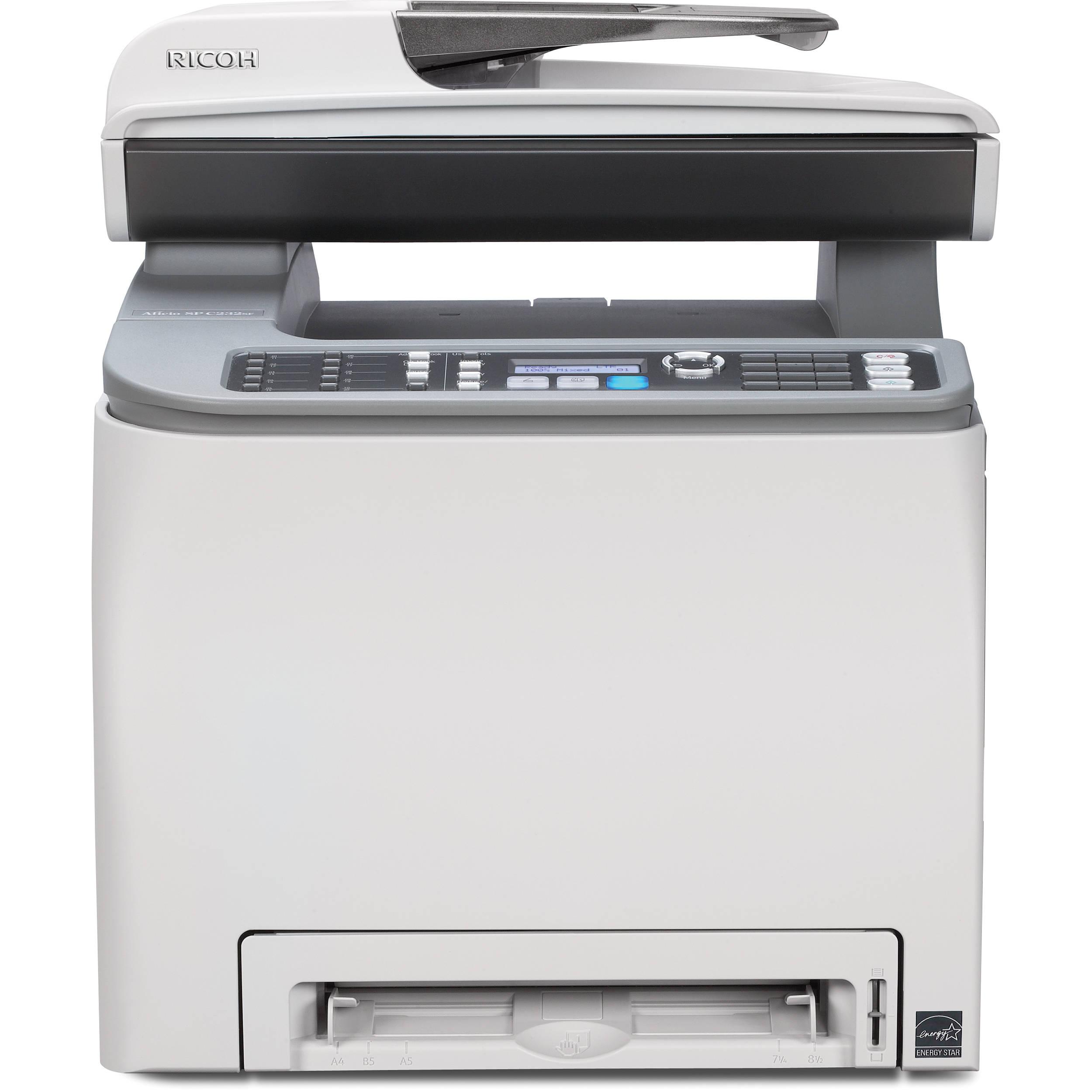 Ricoh Aficio SP C231N Printer PostScript3 Windows