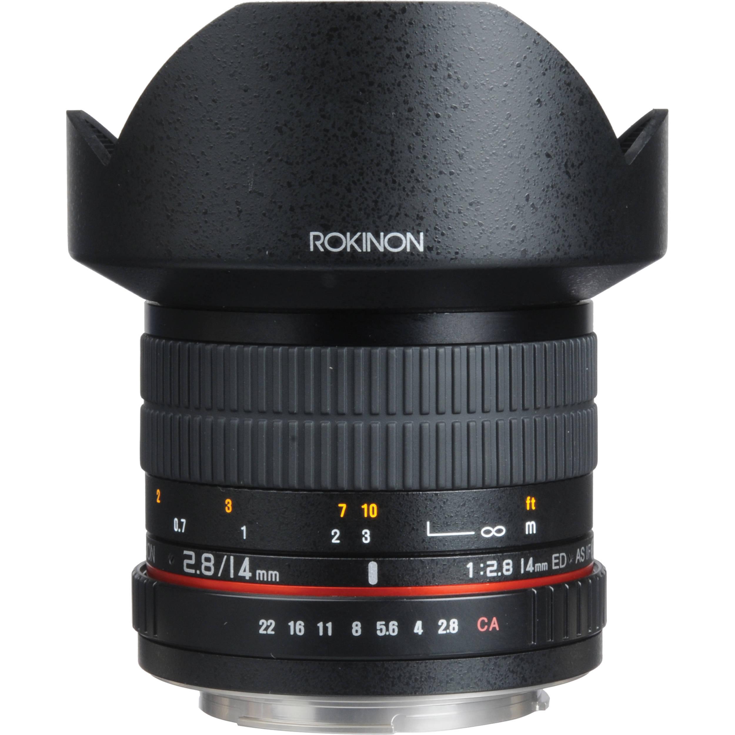 Rokinon 14mm F 2 8 If Ed Umc Lens For Sony A Fe14m S B Amp H Photo