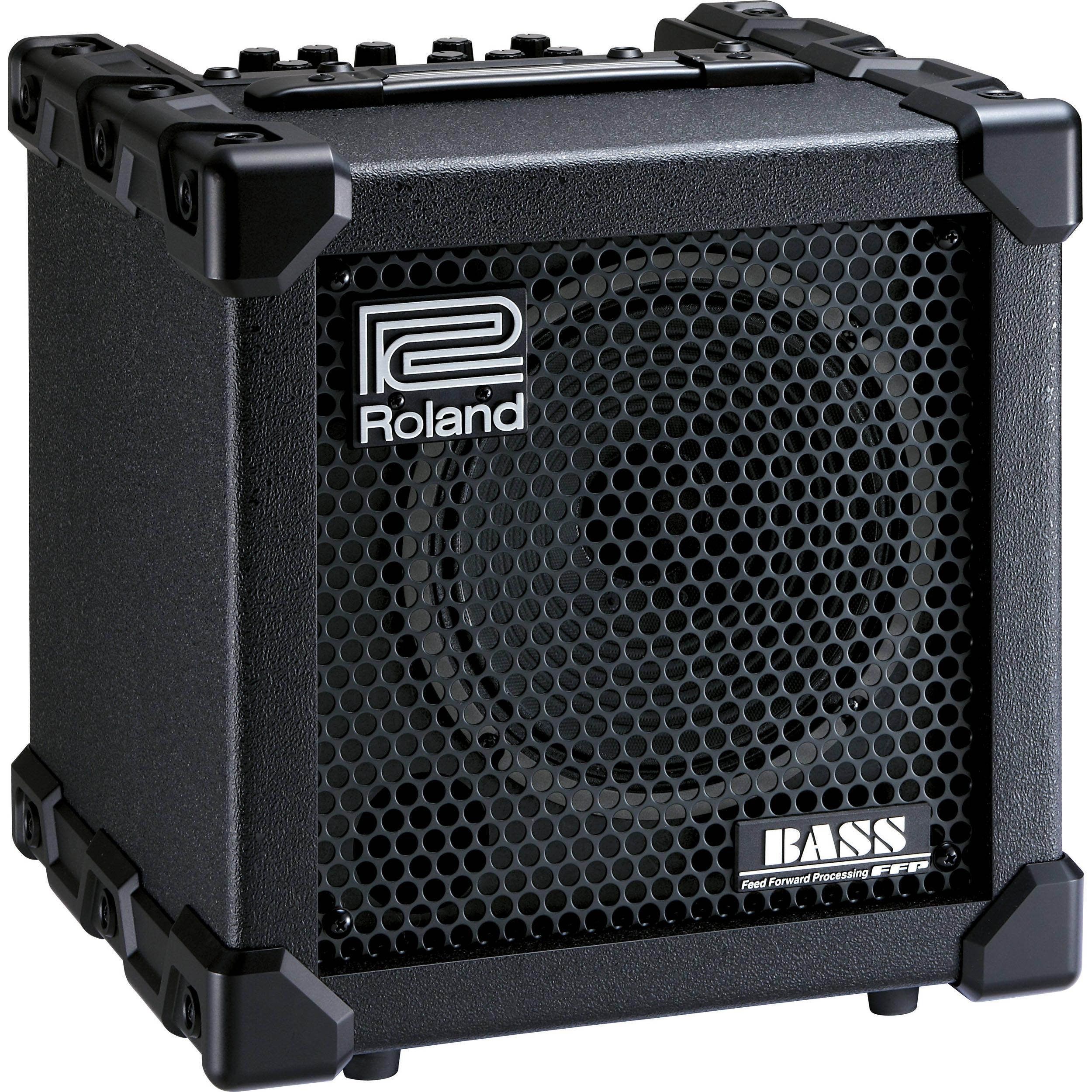 roland cube 20xl bass compact bass amplifier speaker cb 20xl. Black Bedroom Furniture Sets. Home Design Ideas