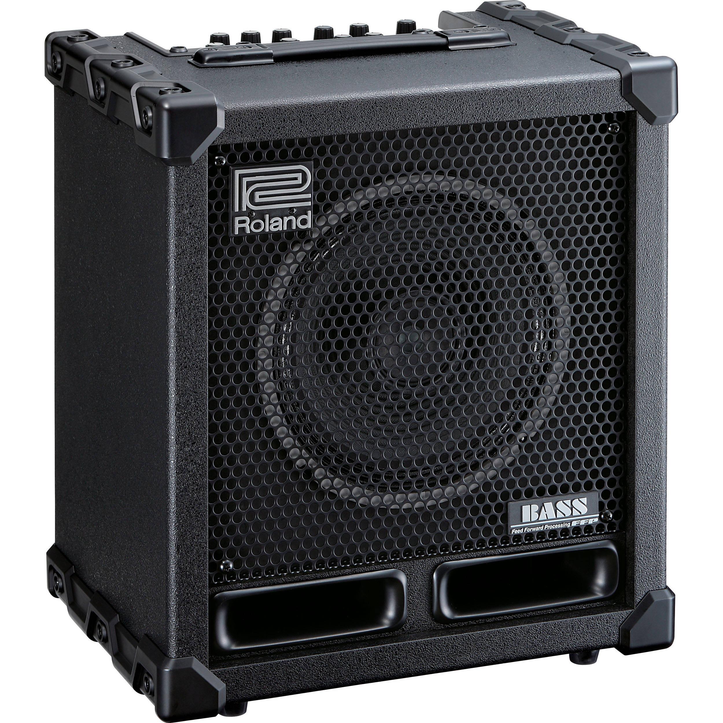 roland cube 60xl bass compact bass amplifier speaker cb 60xl. Black Bedroom Furniture Sets. Home Design Ideas