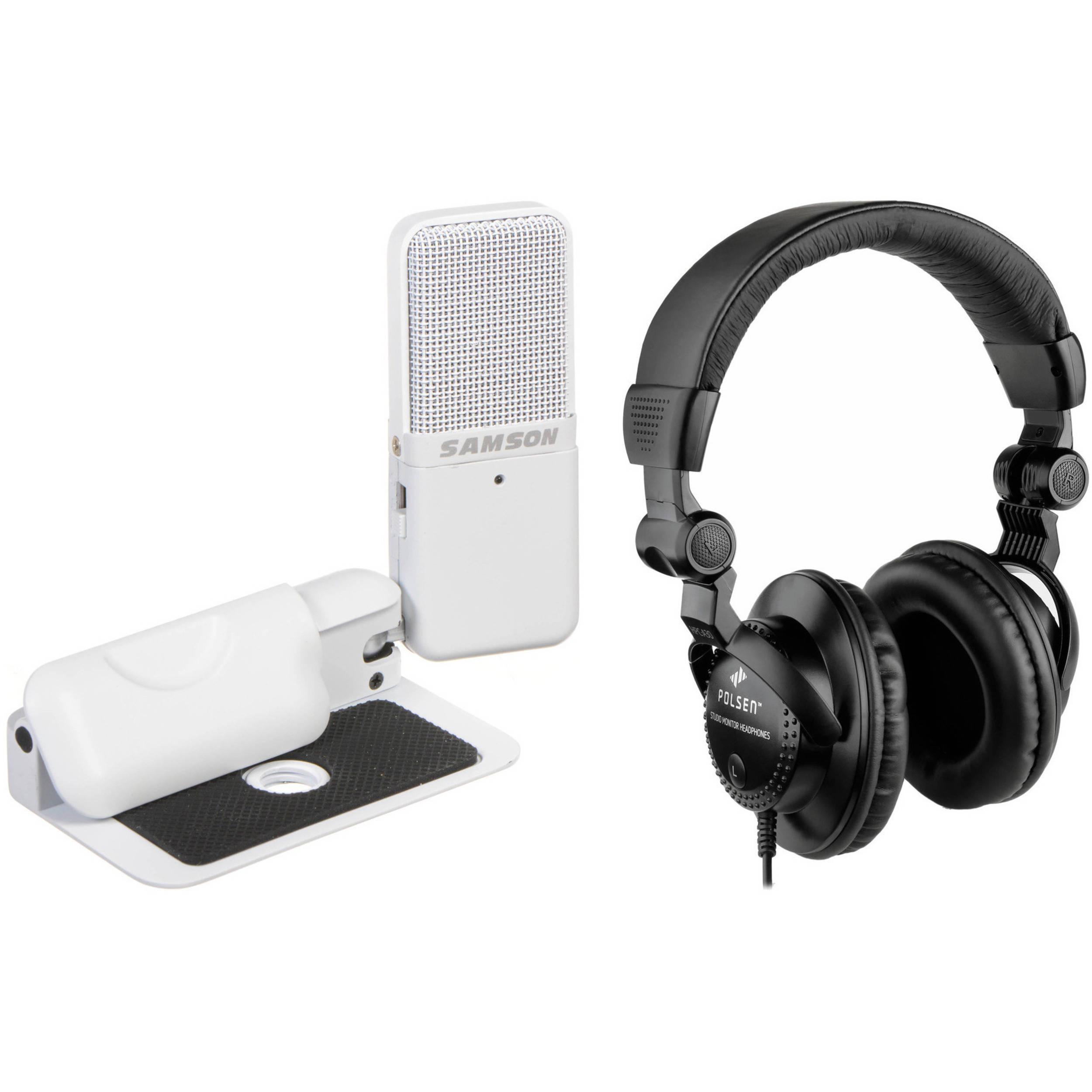 Microphone and dj headphones bundle - headphones with microphone apple
