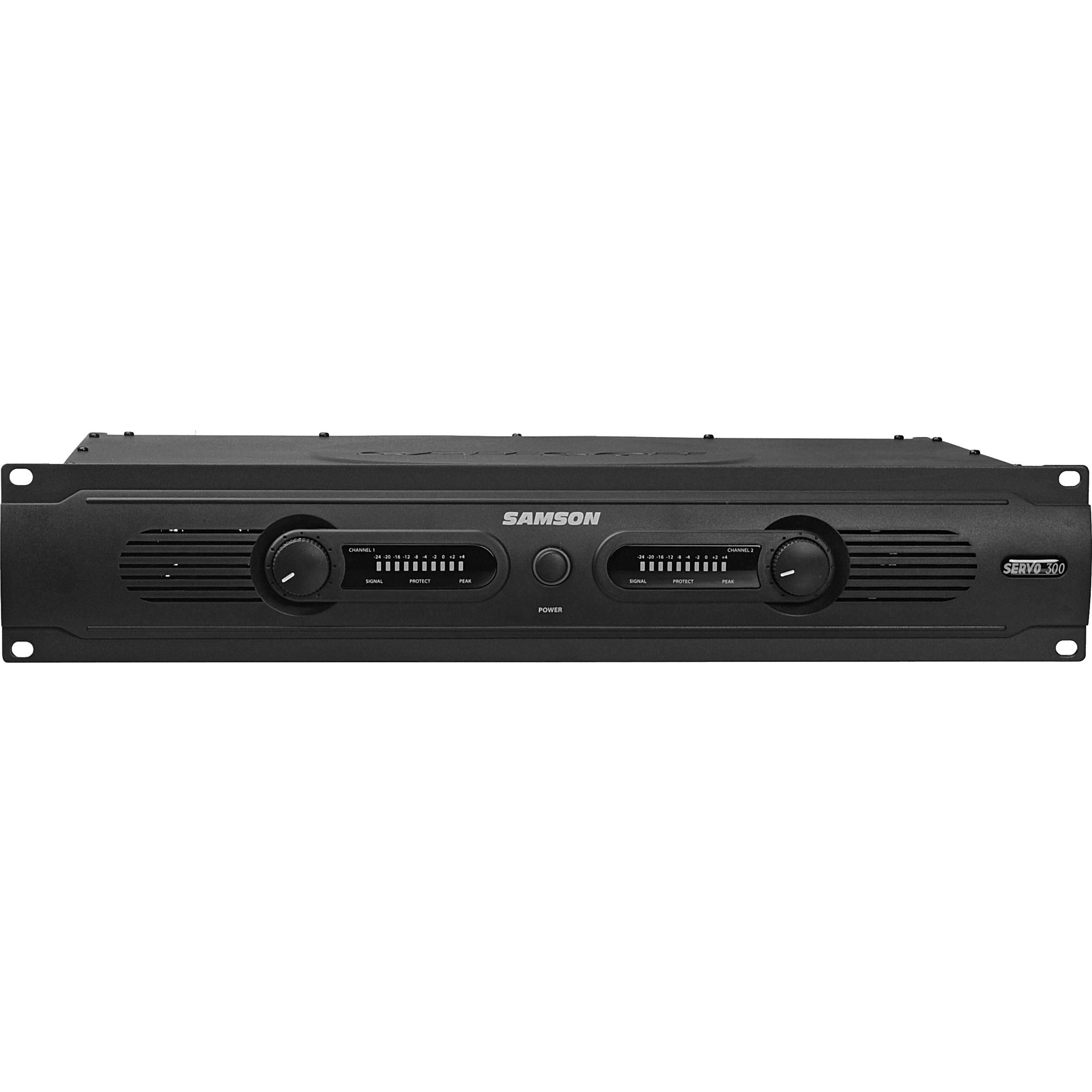 Samson Servo 300 Power Amplifier Sa300 Bh Photo Video Watt Subwoofer