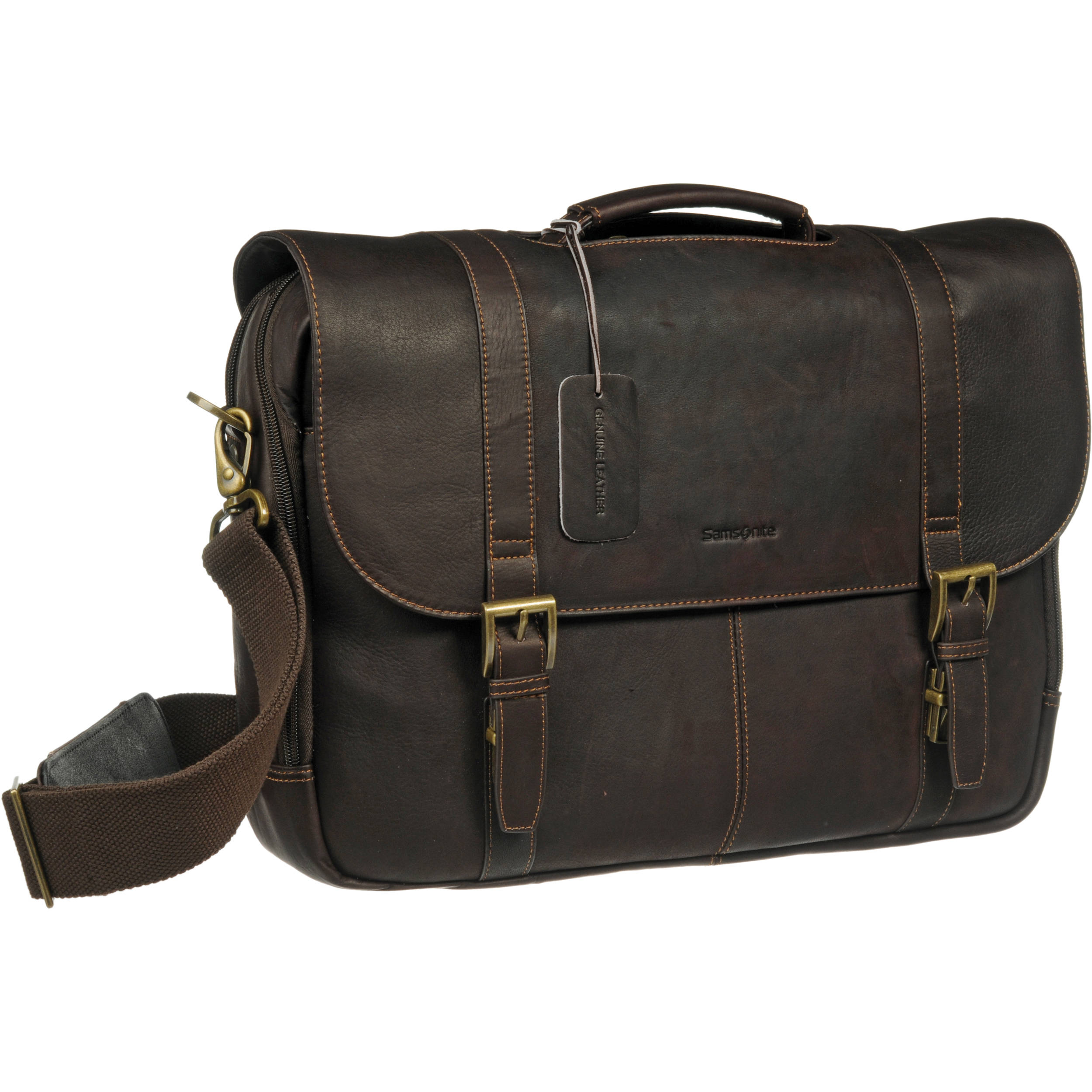 Samsonite Colombian Leather Laptop Case