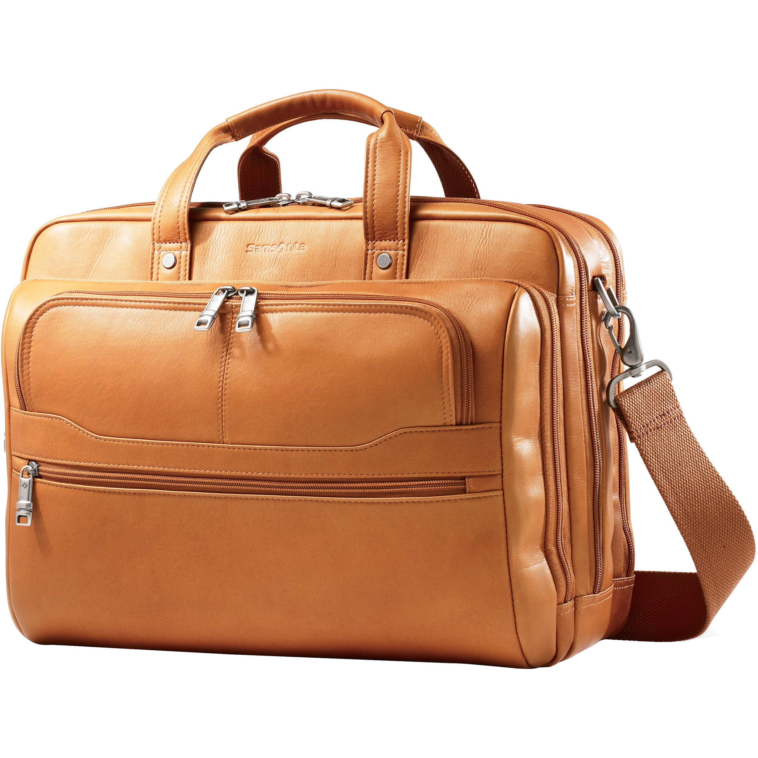 Samsonite Colombian Leather 2 Pocket Business Case 50791 1847