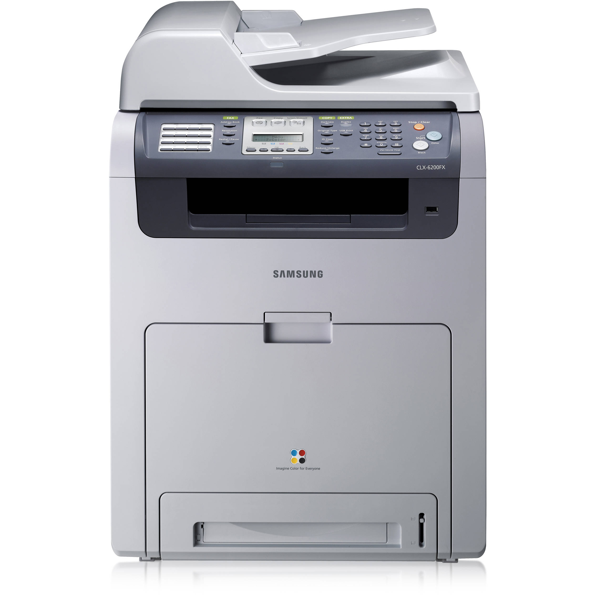 Samsung CLX-6200FX Printer Treiber Windows 10