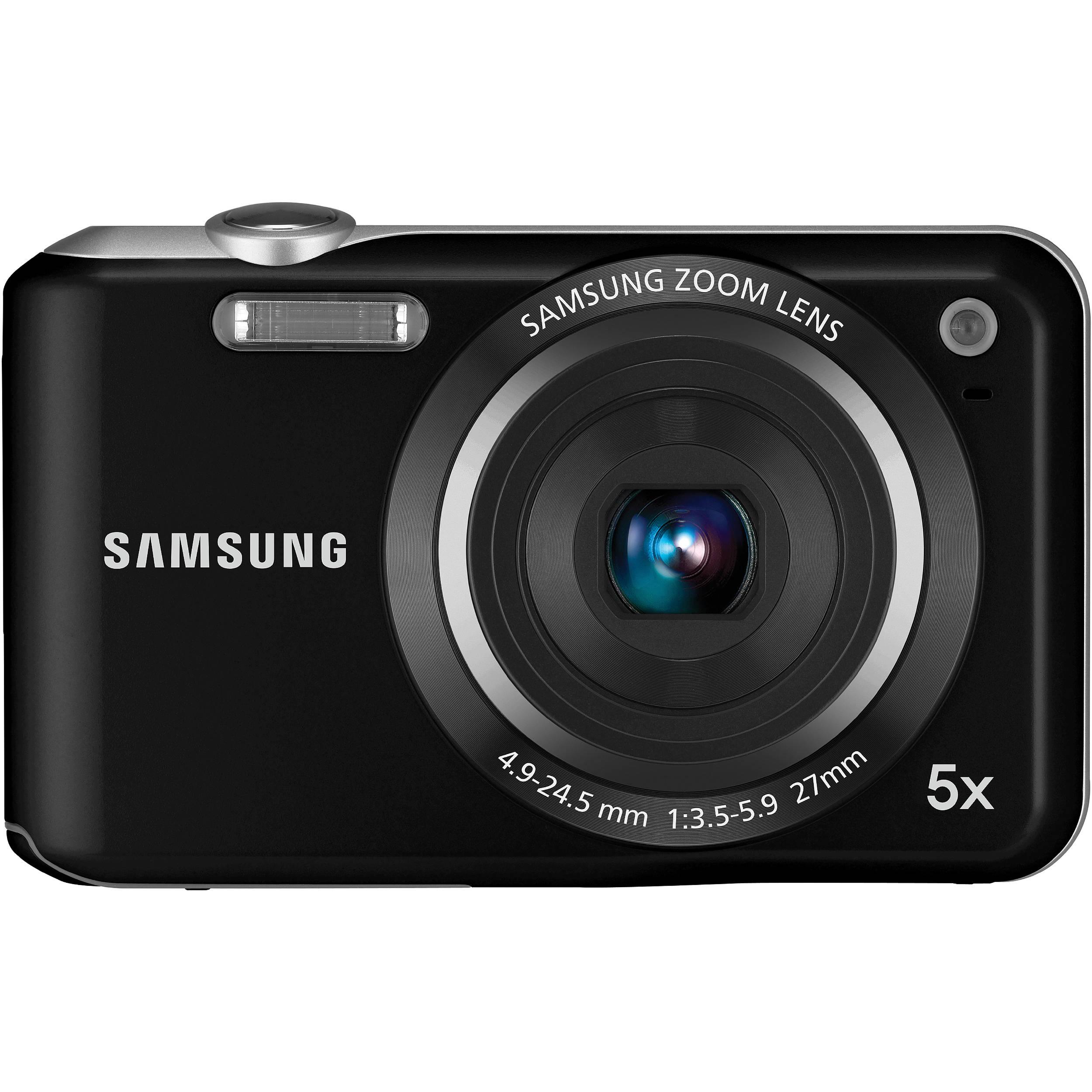 Samsung SL50 Digital Camera (Black) EC-SL50ZZBPBUS B&H Photo