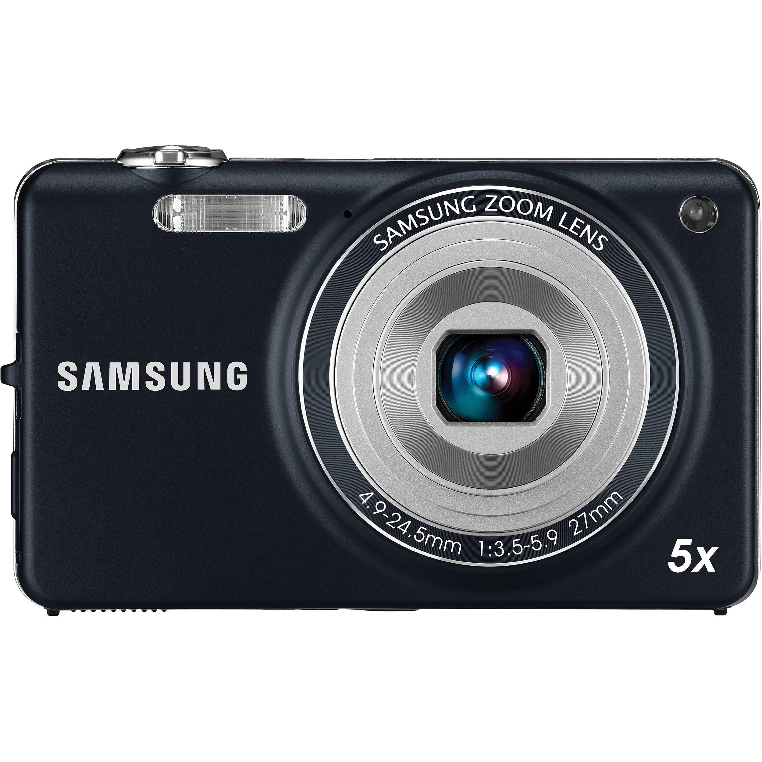 Samsung ST65 Digital Camera (Indigo Blue) EC-ST65ZZBPUUS B&H