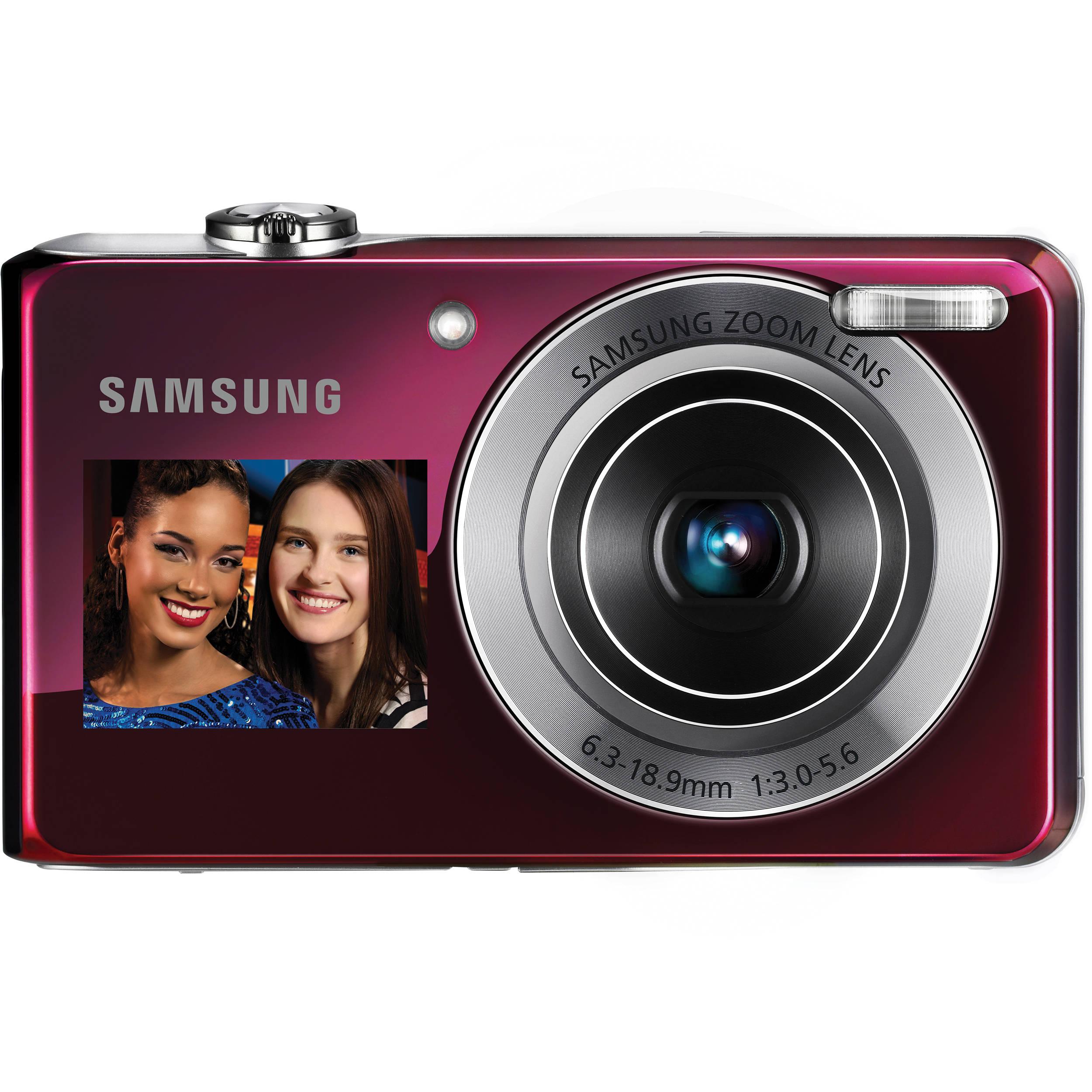 samsung tl205 dualview digital camera pink ec tl205zbppus b h rh bhphotovideo com samsung tl205 camera manual Samsung TL205 Charger Walmart