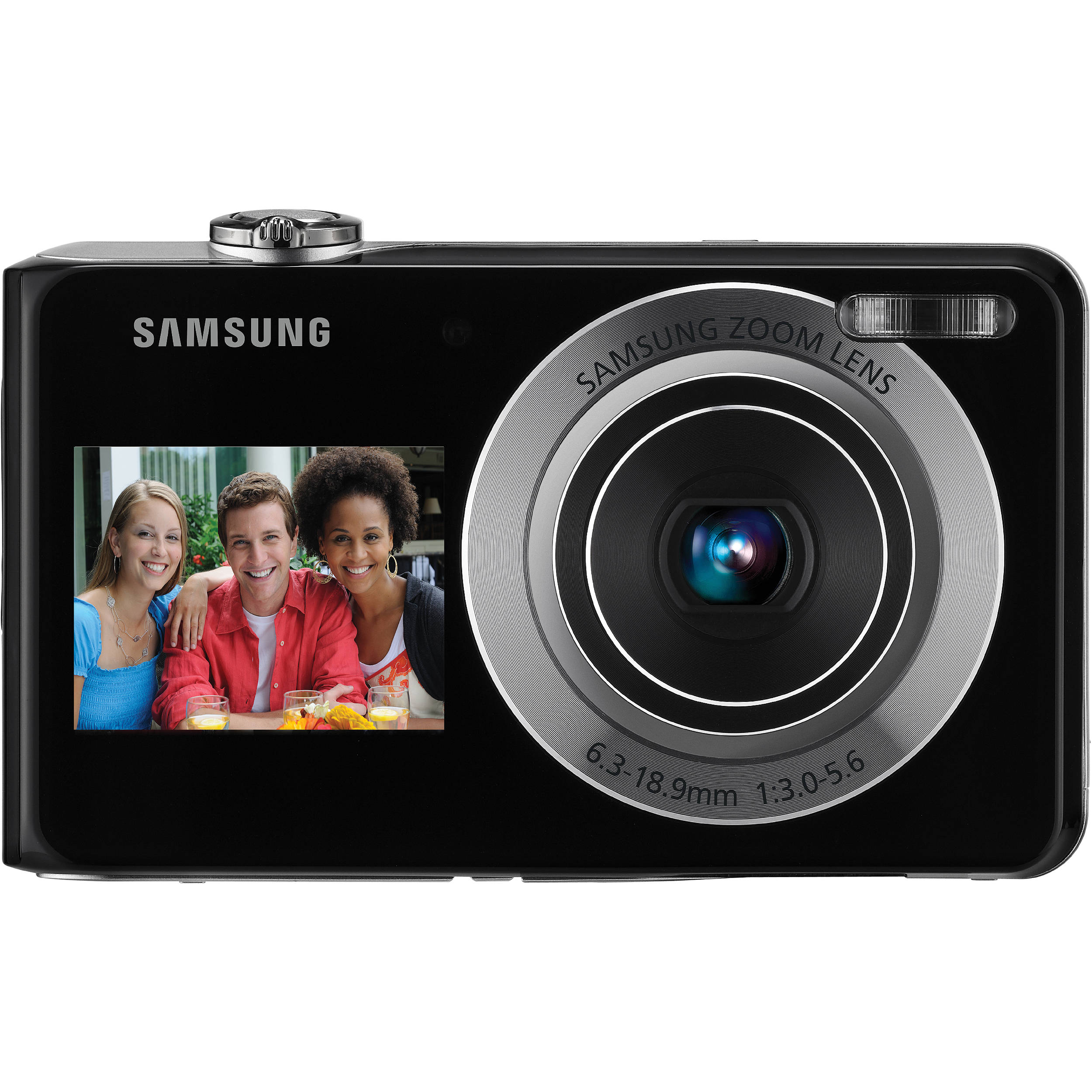 samsung tl205 dualview digital camera silver ec tl205zbpsus rh bhphotovideo com Samsung TL205 Camera Charger Samsung TL205 Pickies How Many Are There