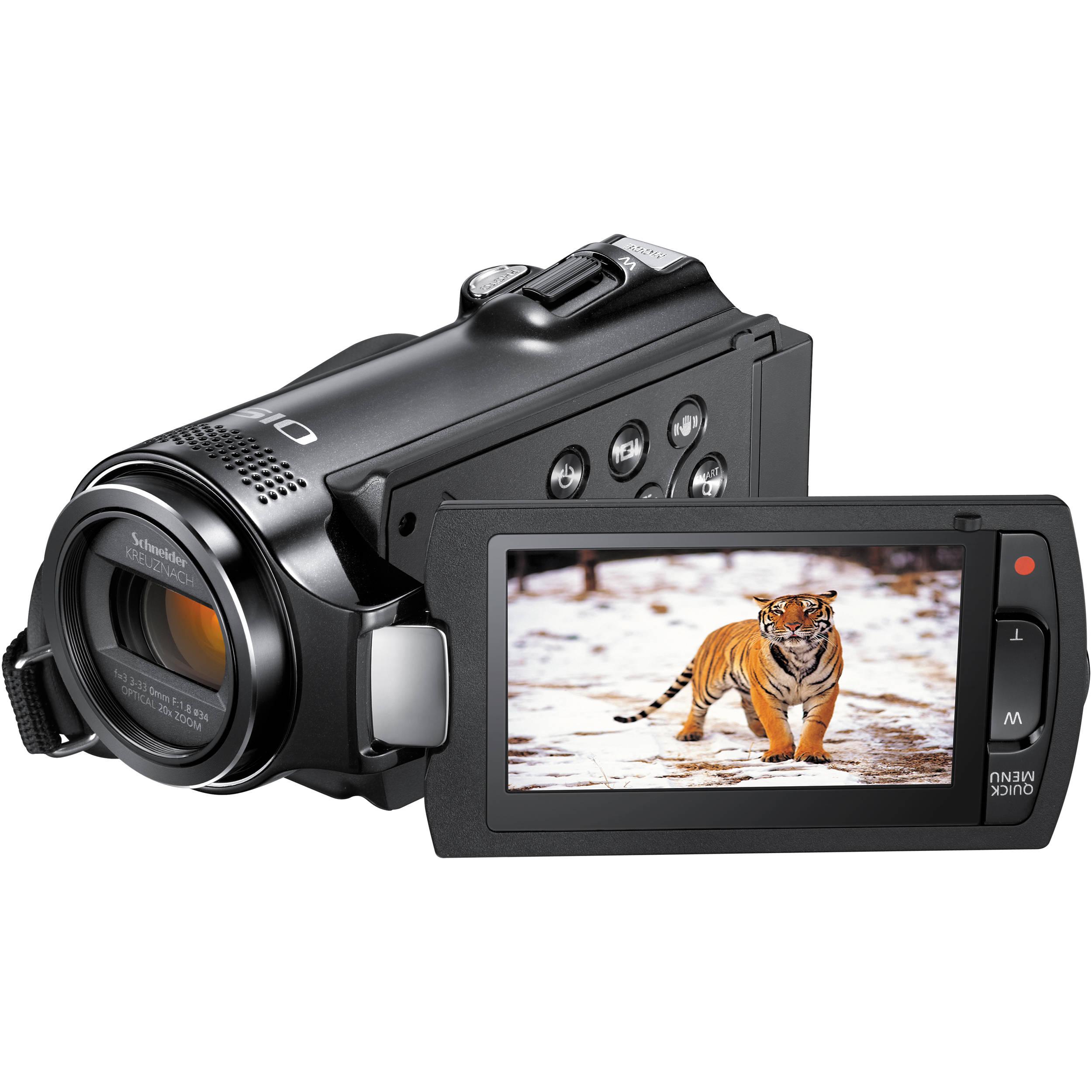 Samsung Hmx H204bn Full Hd Camcorder Hmx H204bn Xaa B H Photo
