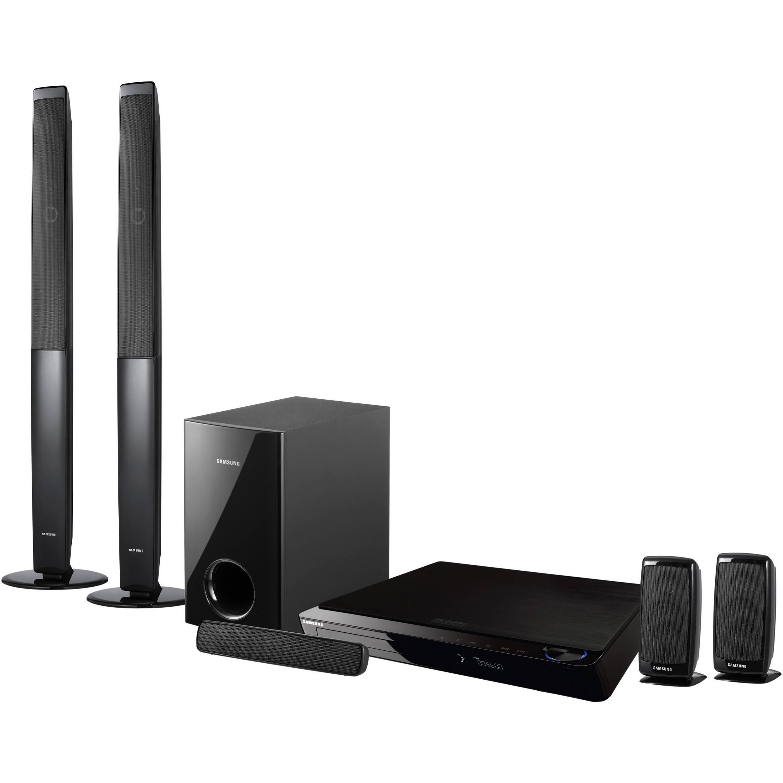 samsung ht bd3252t home theater system ht bd3252t b h photo. Black Bedroom Furniture Sets. Home Design Ideas