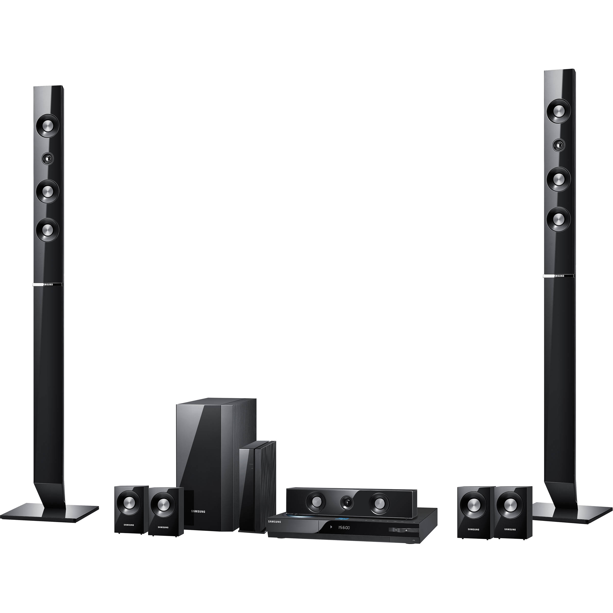 samsung ht c6730w blu ray home theater system ht c6730w b h. Black Bedroom Furniture Sets. Home Design Ideas