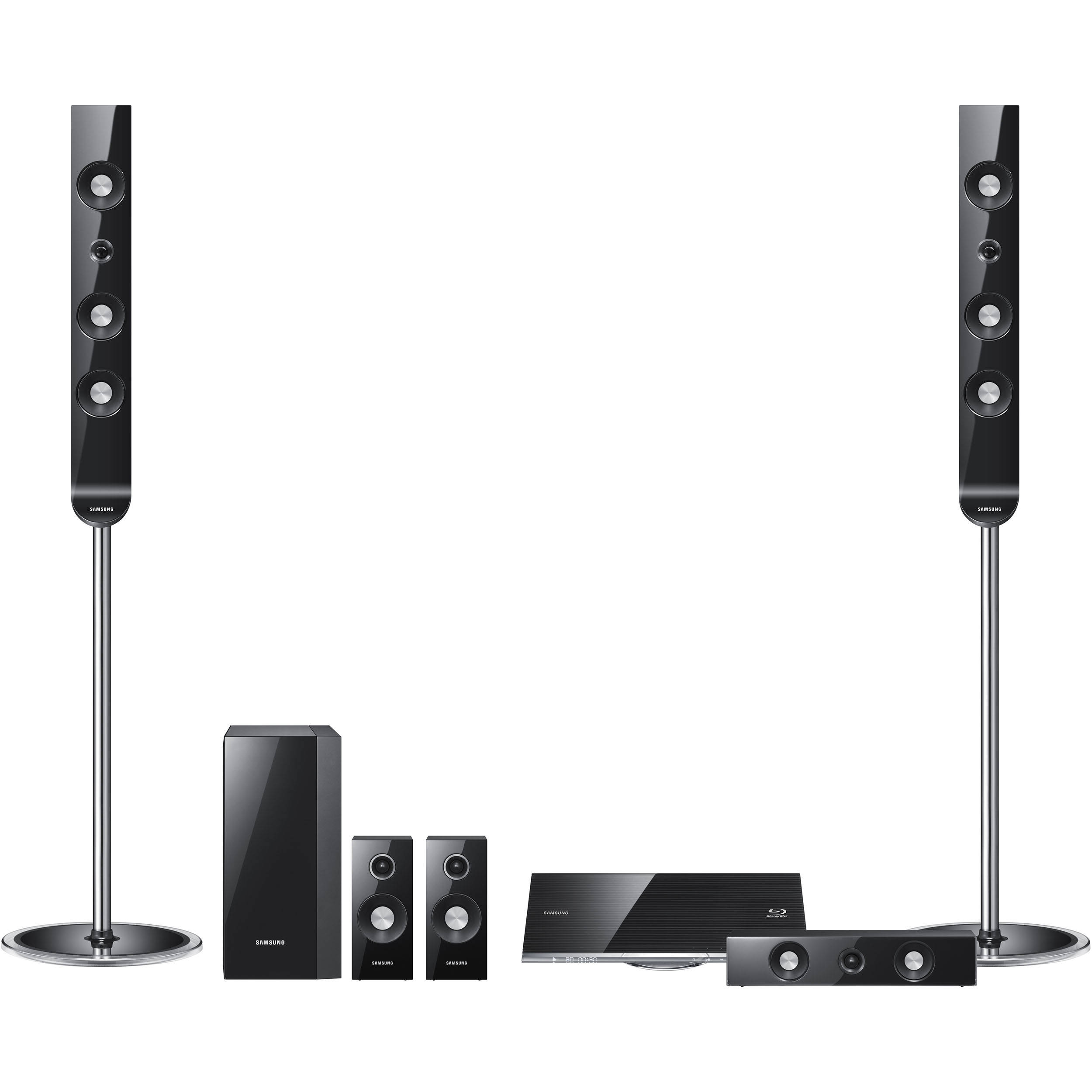 samsung ht c7530w 5 1 channel blu ray home theater ht. Black Bedroom Furniture Sets. Home Design Ideas