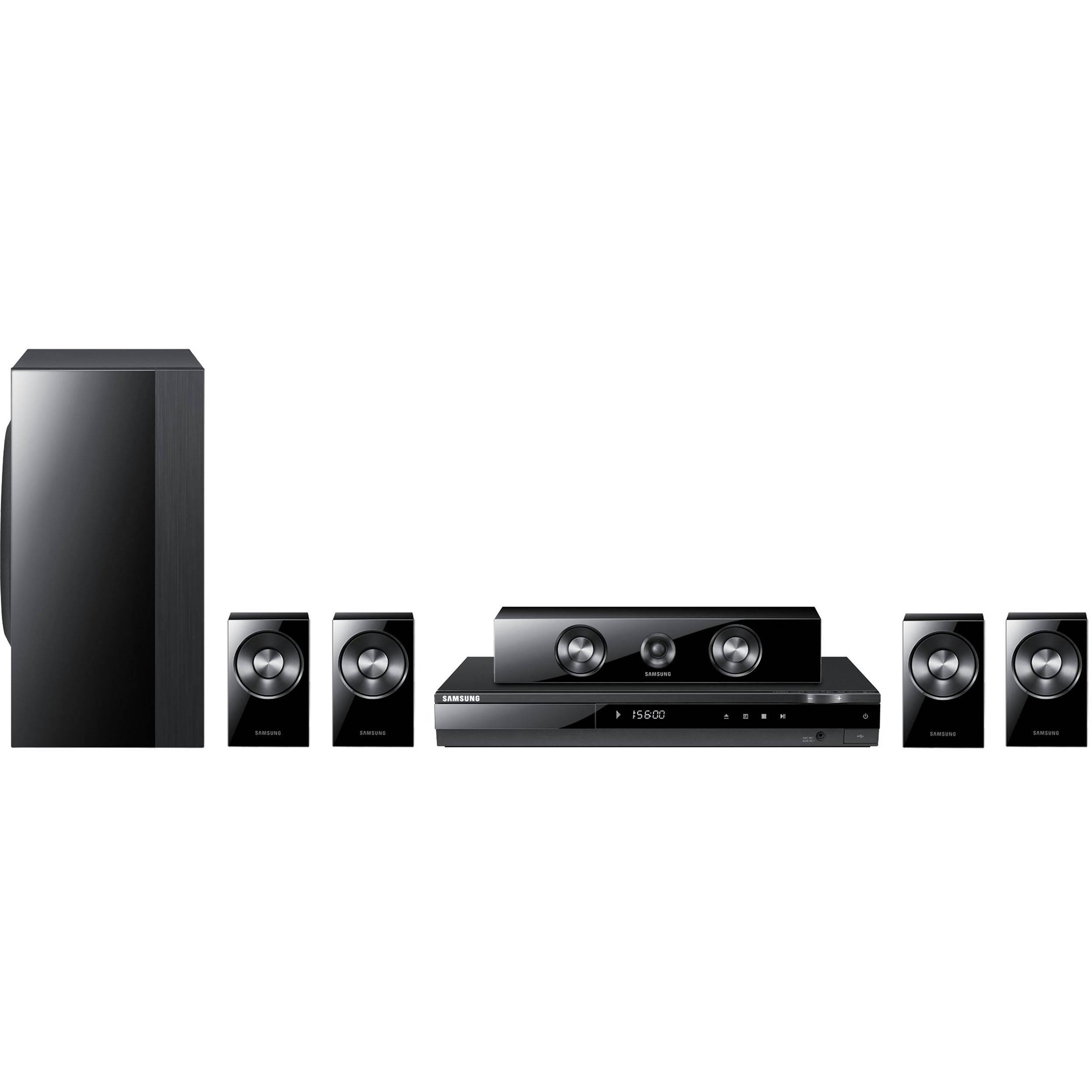 samsung ht d550 home theater system ht d550 b h photo video. Black Bedroom Furniture Sets. Home Design Ideas