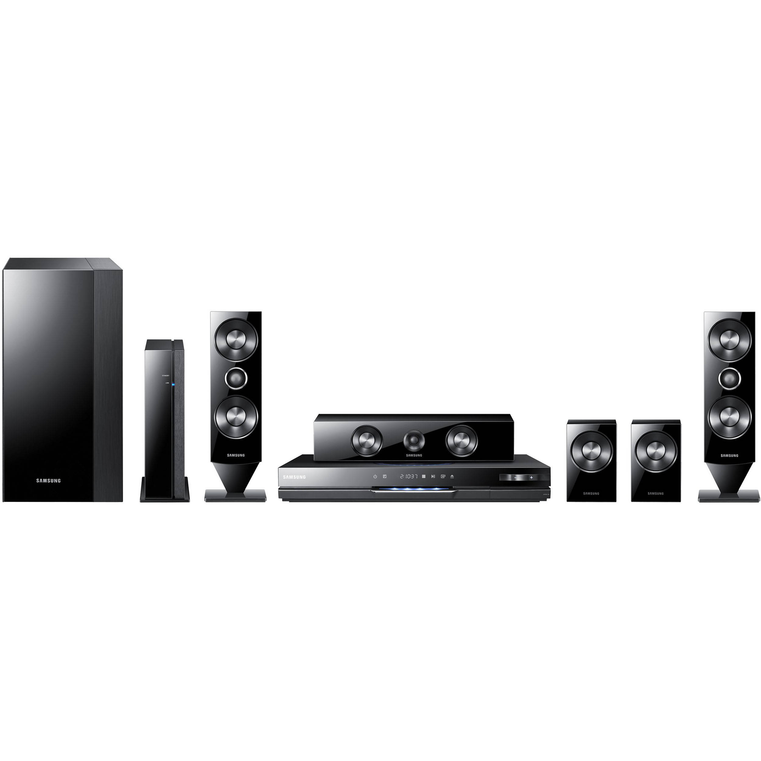samsung ht d6500w blu ray home theater system ht d6500w b h. Black Bedroom Furniture Sets. Home Design Ideas
