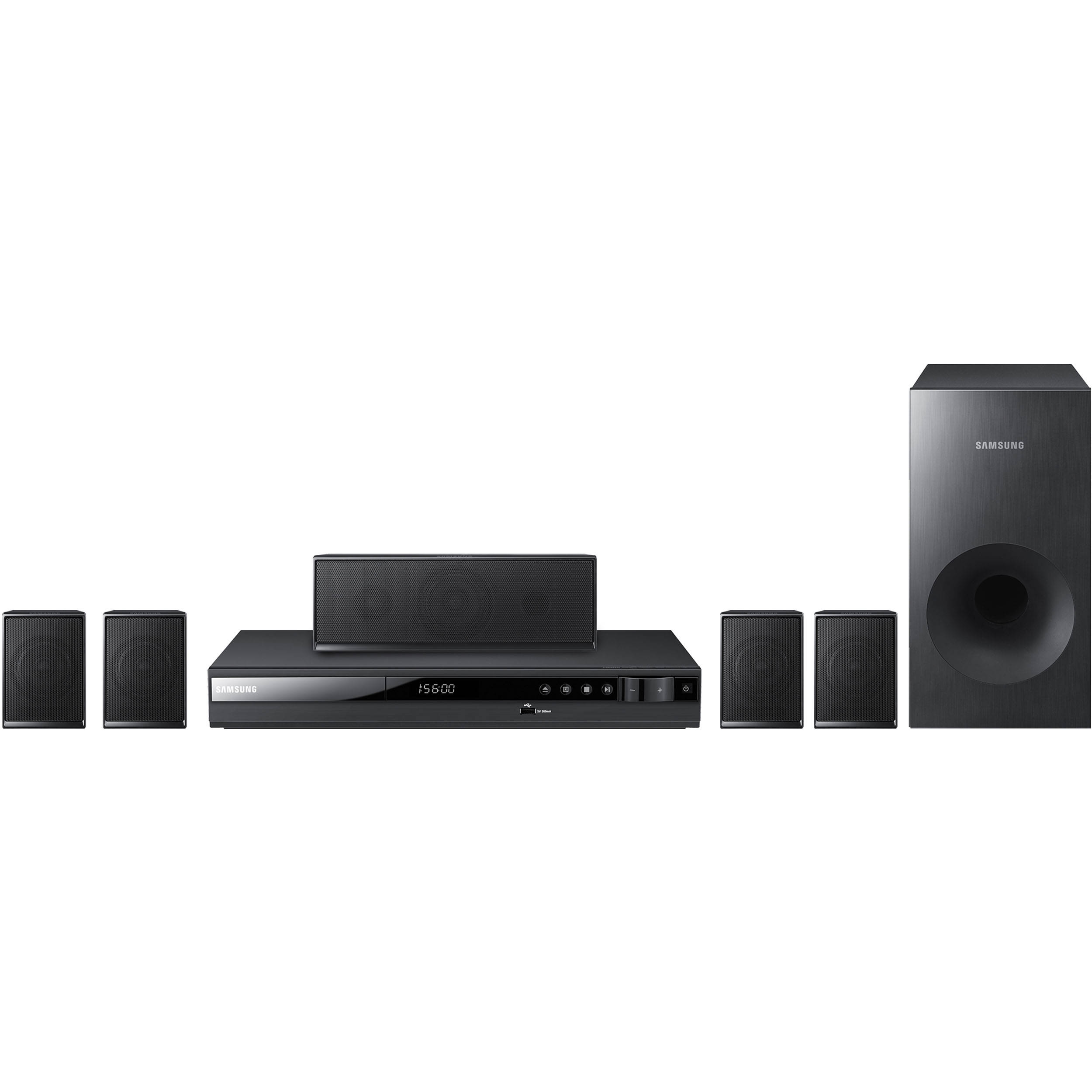 samsung ht e350 digital home entertainment system ht e350 b h. Black Bedroom Furniture Sets. Home Design Ideas
