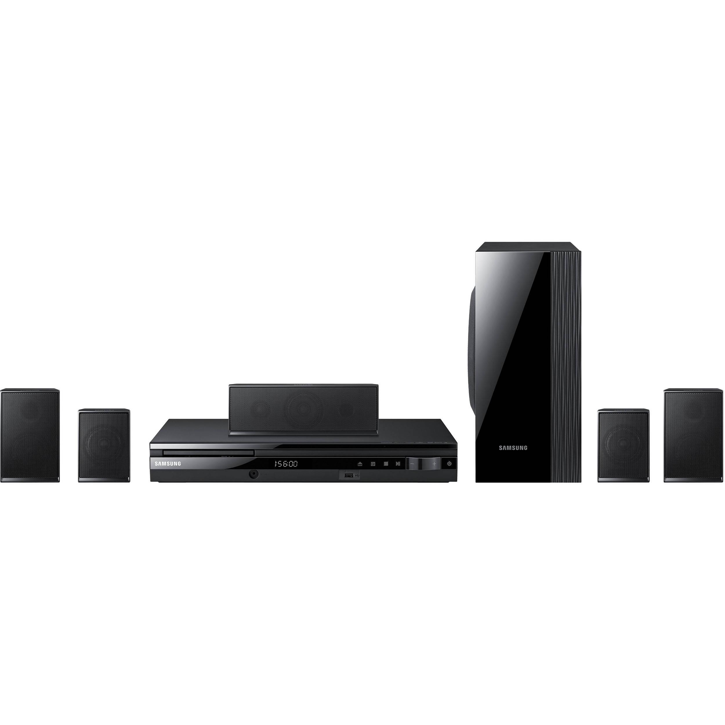 samsung ht e550 digital home entertainment system ht e550 b h. Black Bedroom Furniture Sets. Home Design Ideas