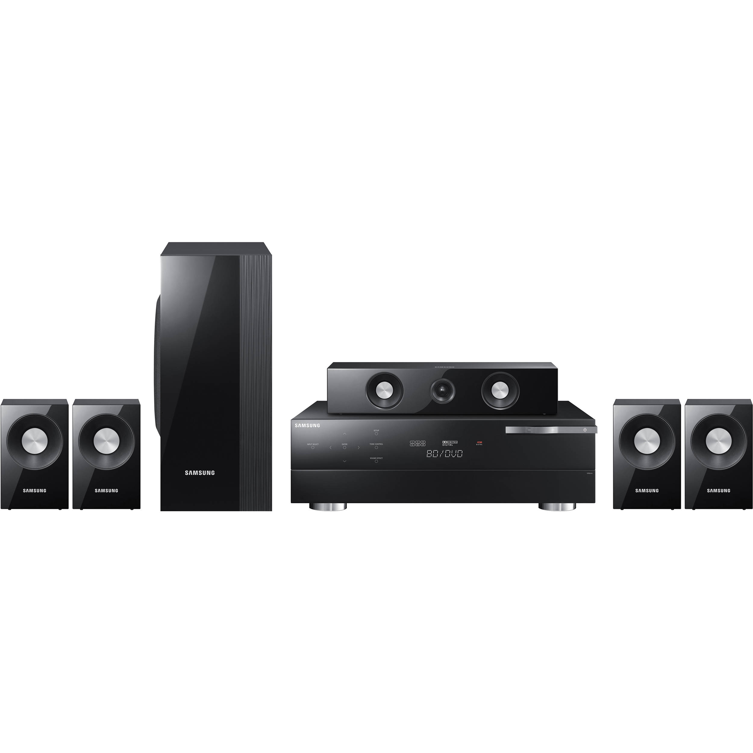 samsung hw c560s 5 1 home theater system hw c560s b h photo. Black Bedroom Furniture Sets. Home Design Ideas