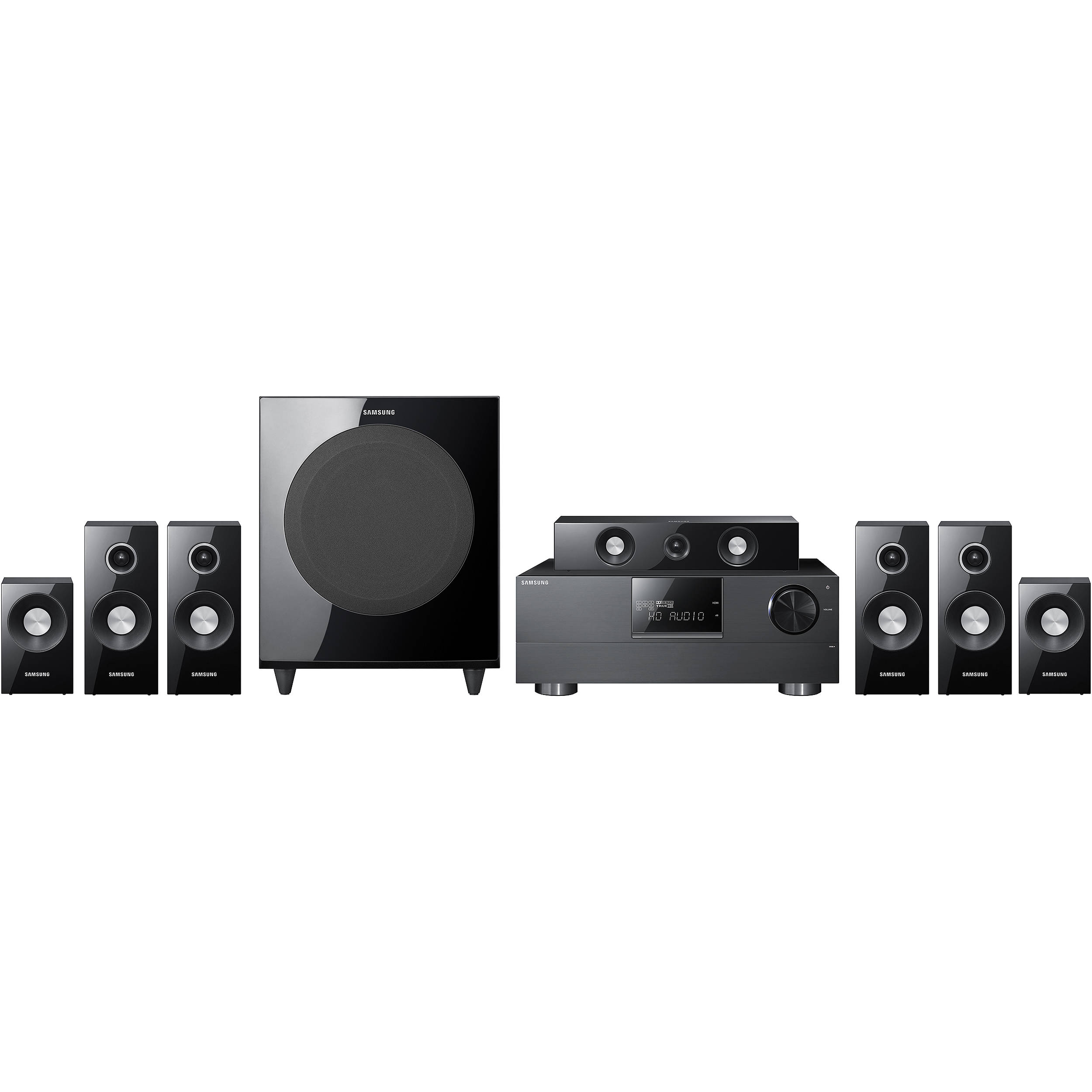 samsung hw c770b 7 1 channel home theater system hw c770bs xaa. Black Bedroom Furniture Sets. Home Design Ideas