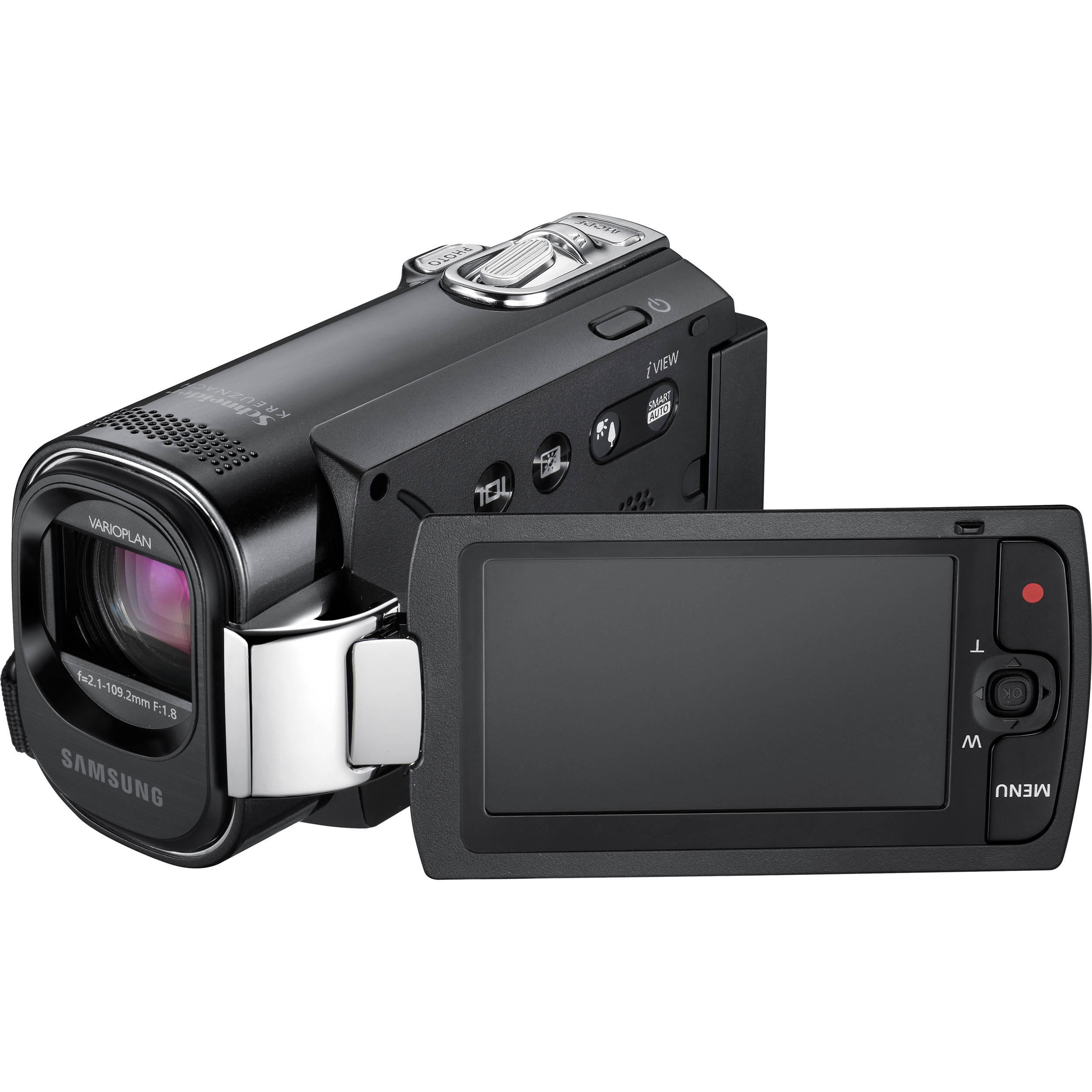 samsung smx f44 digital memory camcorder black