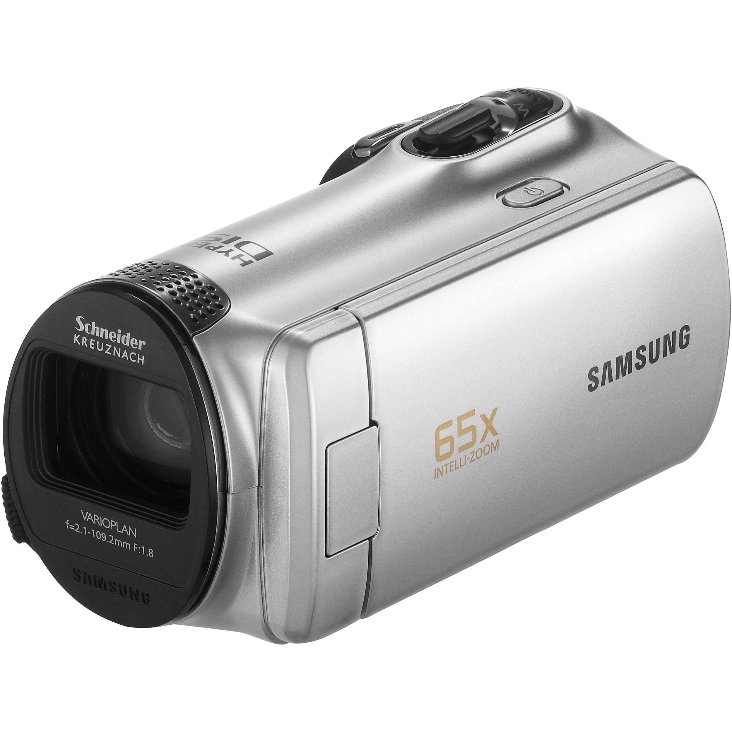 samsung smx f50 flash memory camcorder silver smx f50sn xaa rh bhphotovideo com Samsung 56X Camcorder Manual samsung 65x intelli zoom camcorder manual