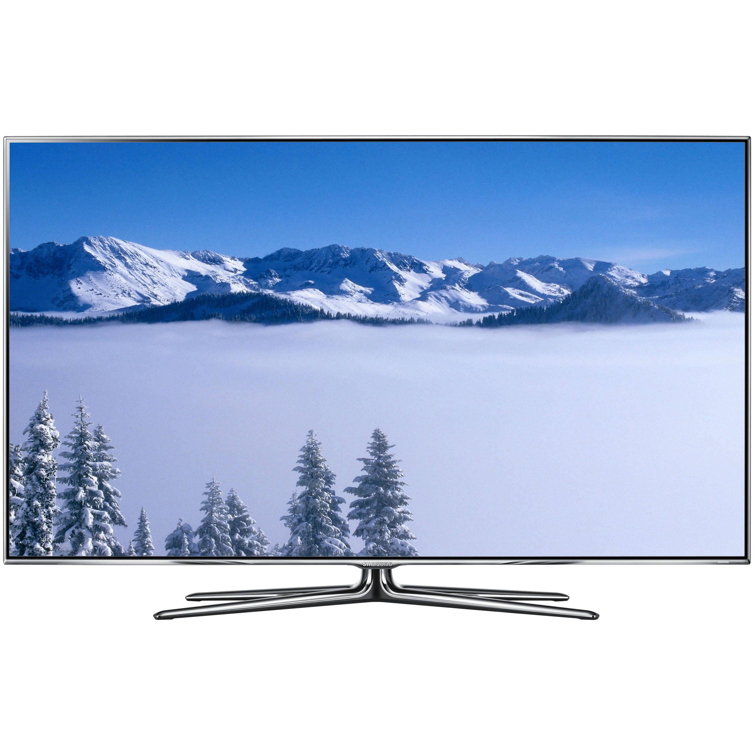 samsung un55d8000 55 3d led hdtv un55d8000yfxza b h photo. Black Bedroom Furniture Sets. Home Design Ideas