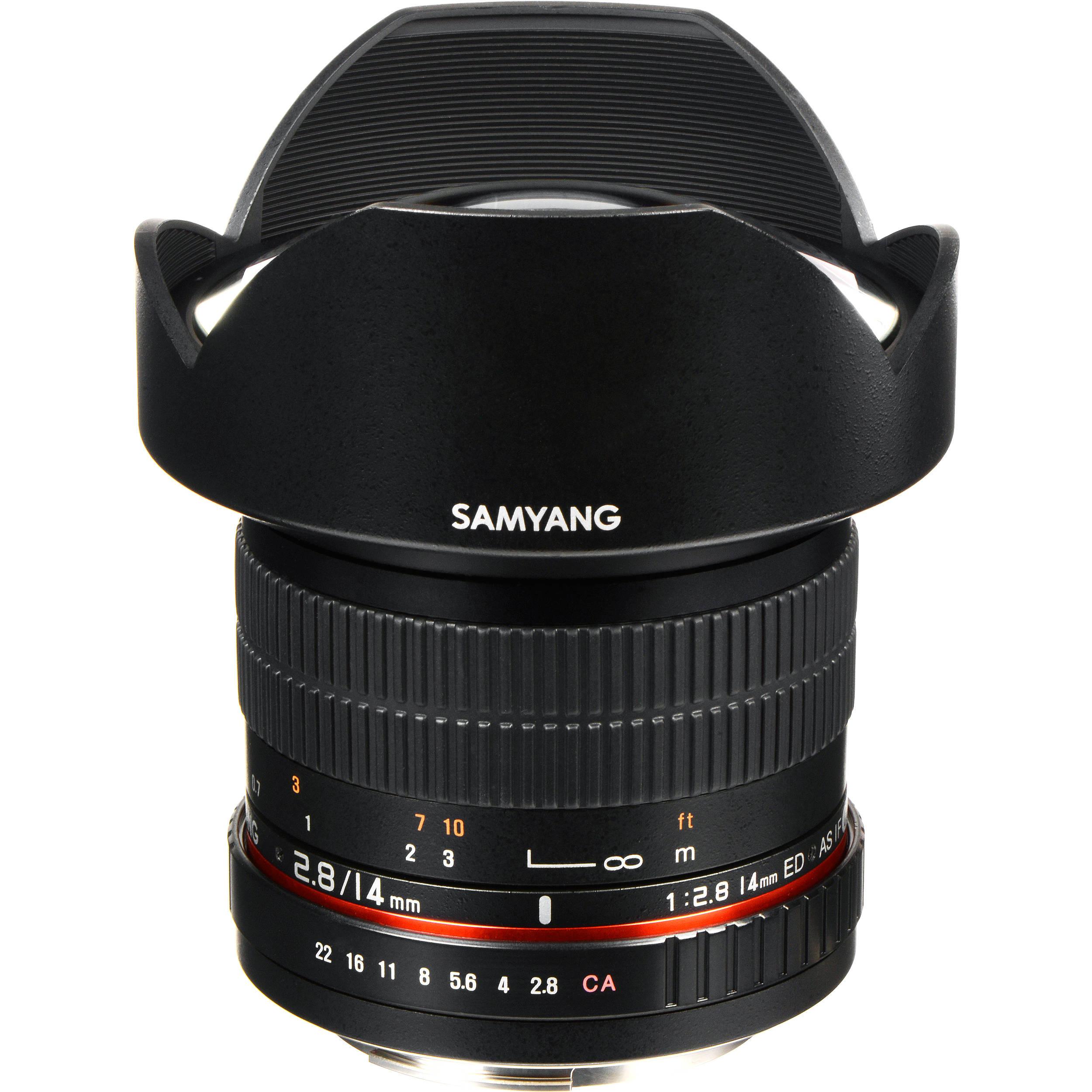 Samyang Mm F   Ed As If Umc Lens For Canon Ef