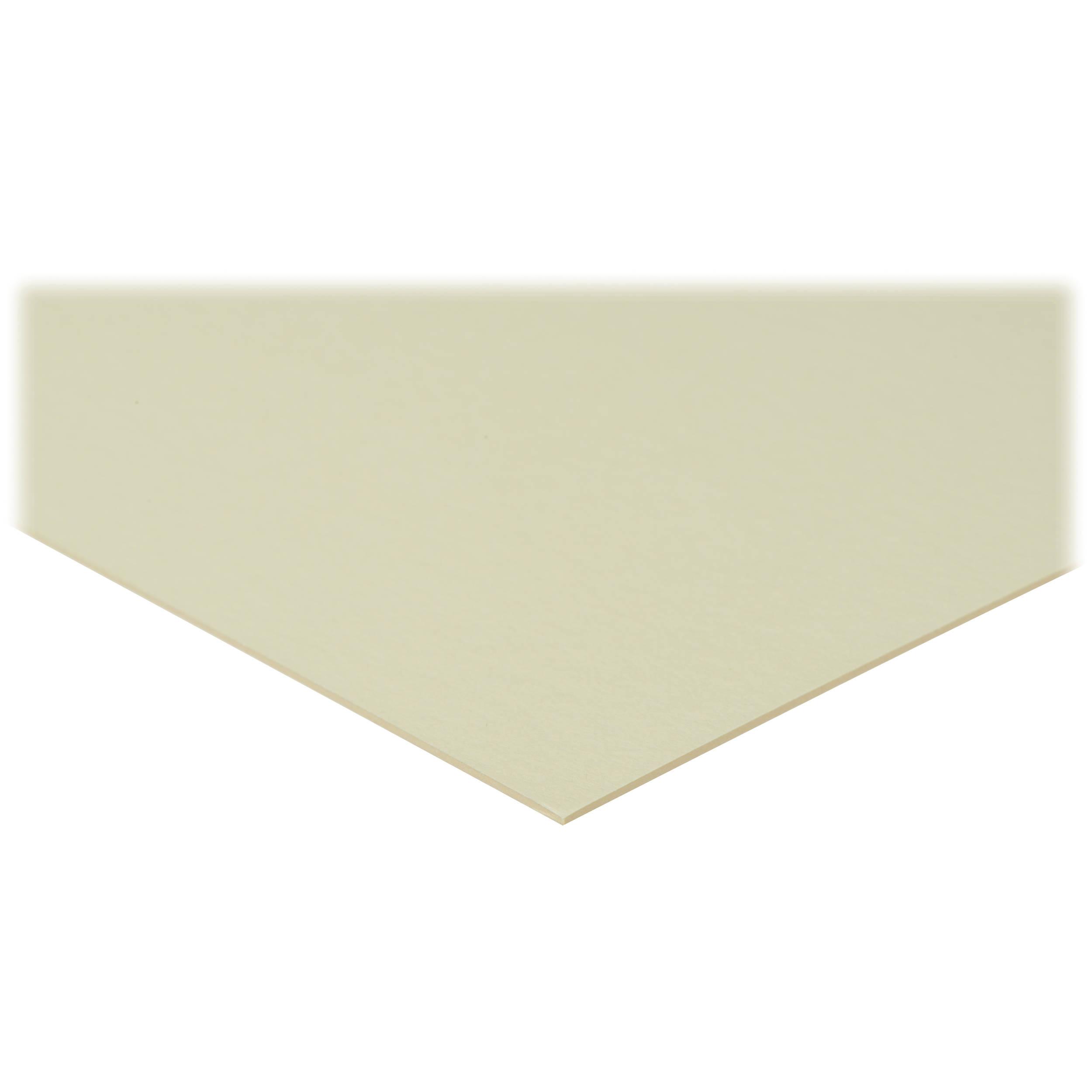 Savage Mat Board 16x20 Quot White Cream 100 Pack 15014 B Amp H