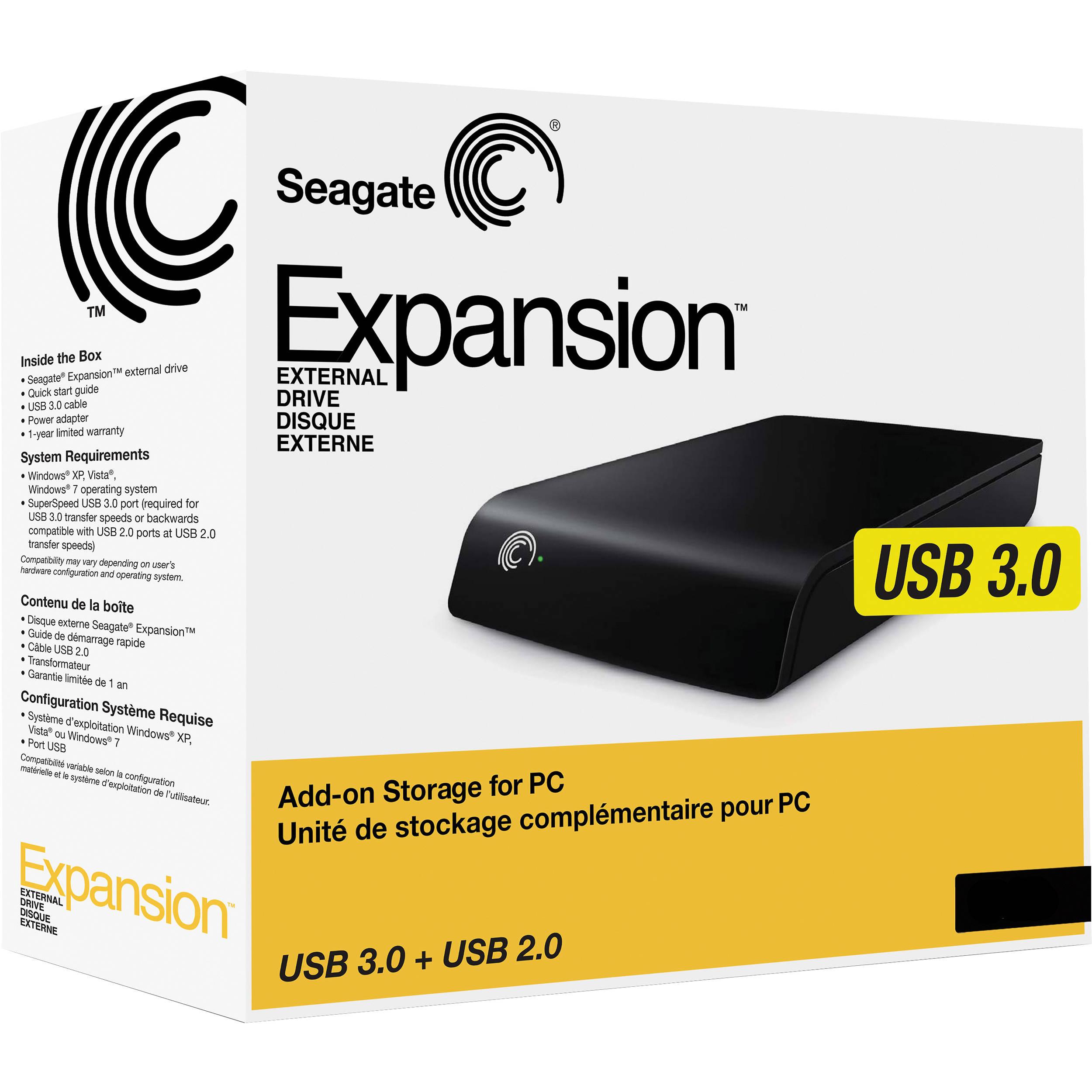 Seagate 1 TB Expansion External Hard Drive