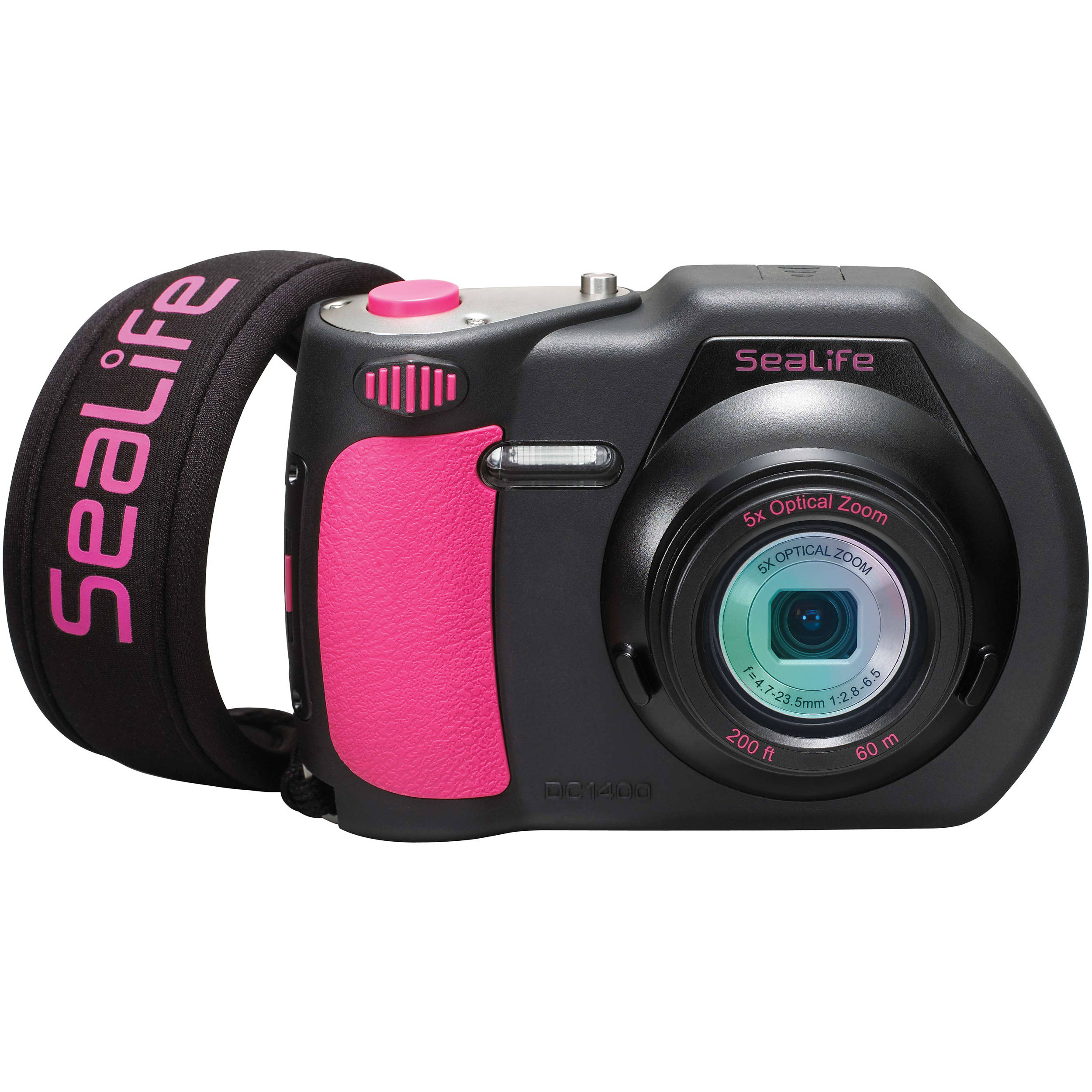 SeaLife DC1400 Underwater Digital Camera (Pink / Black) SL720P