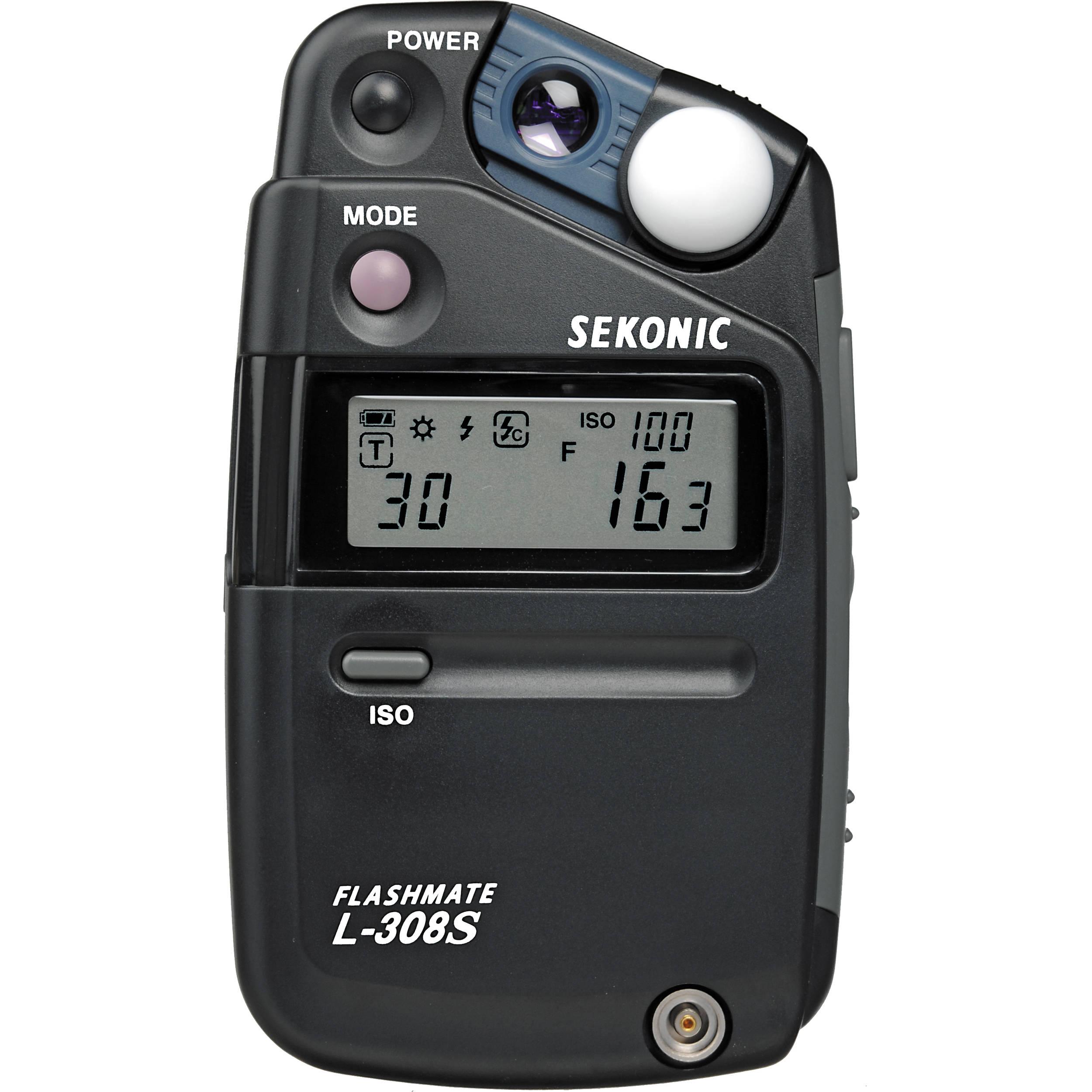 Sekonic L 308S Flashmate Light Meter Nice Look