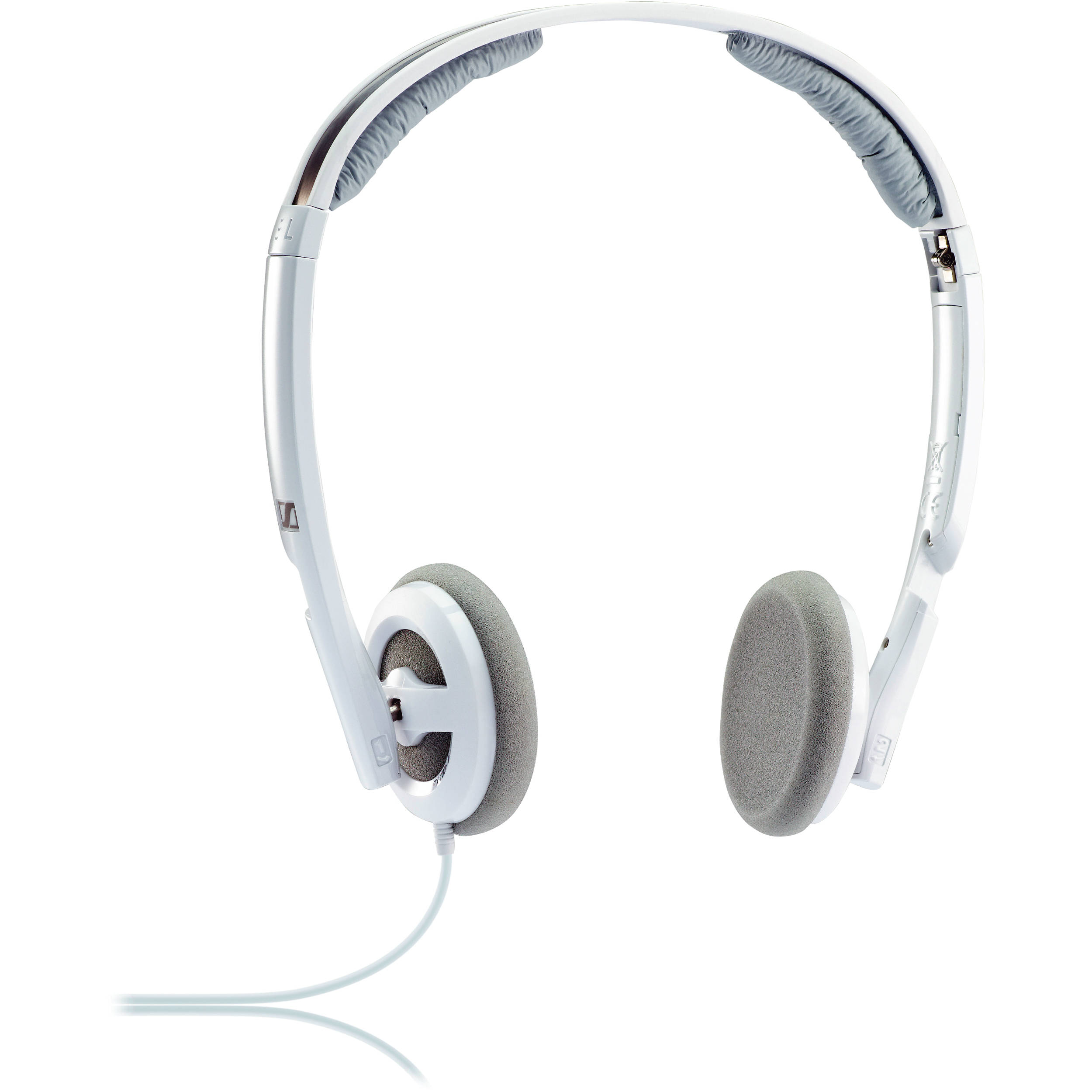 sennheiser px 100 ii on ear stereo headphones white px100 iii. Black Bedroom Furniture Sets. Home Design Ideas