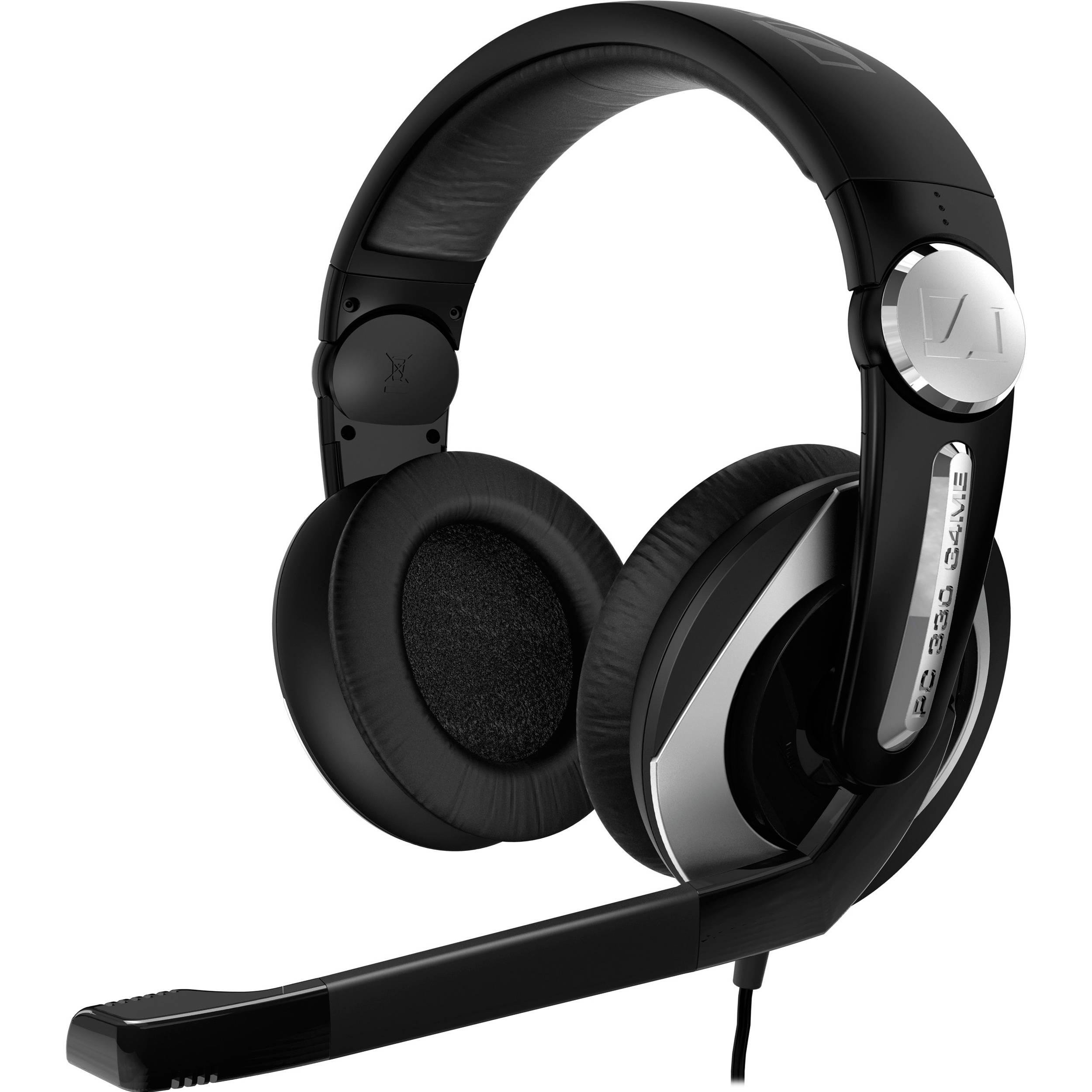 sennheiser pc 330 gaming headset pc330 b h photo video. Black Bedroom Furniture Sets. Home Design Ideas