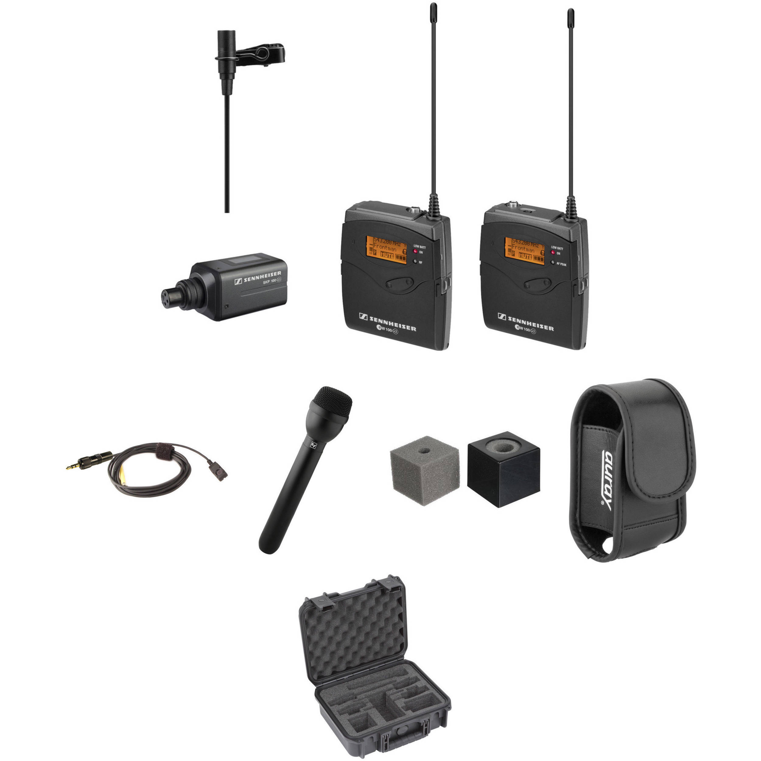 sennheiser ew 100 eng g3 wireless broadcast kit a b h photo. Black Bedroom Furniture Sets. Home Design Ideas
