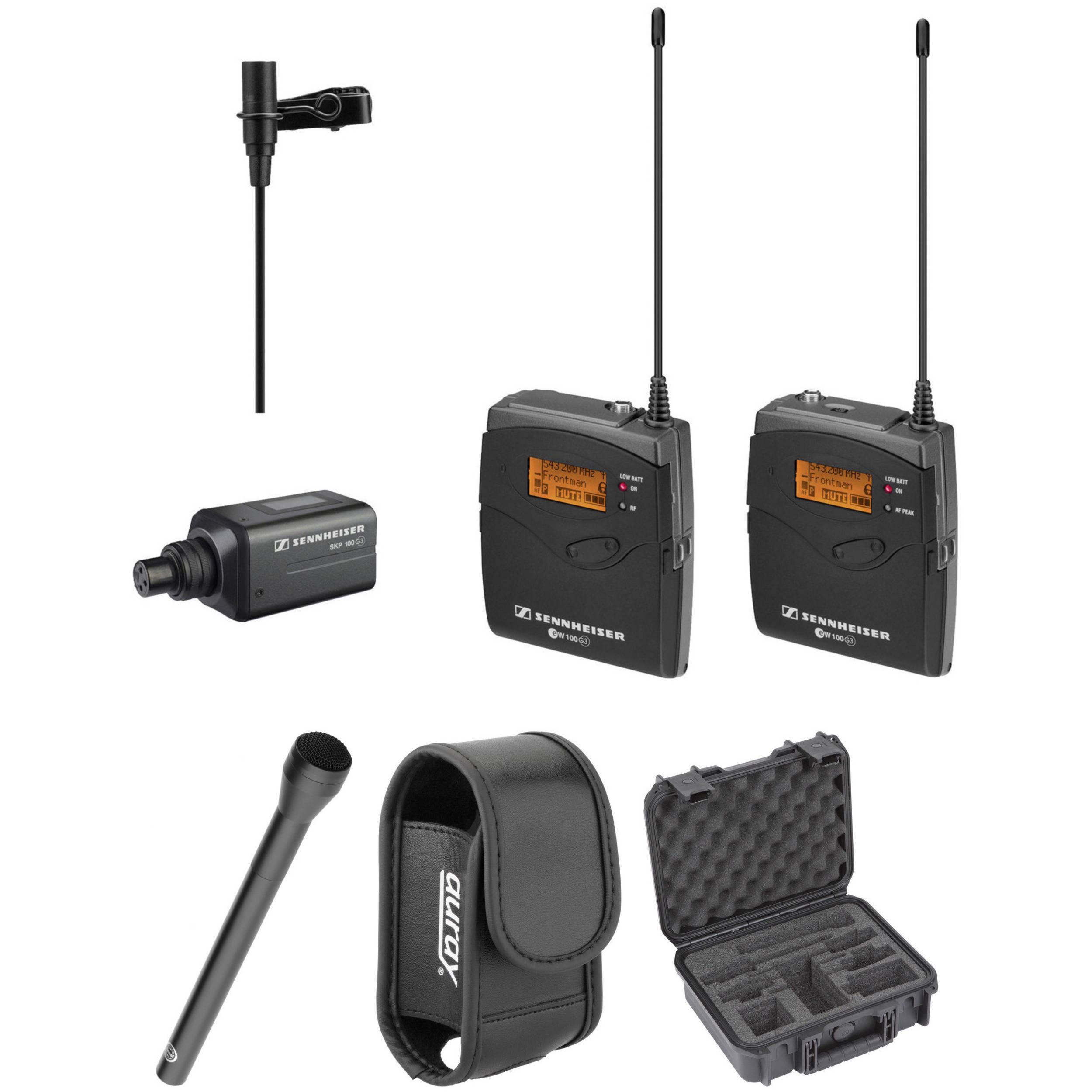 sennheiser ew 100 eng g3 wireless basic kit g 566 608 mhz. Black Bedroom Furniture Sets. Home Design Ideas